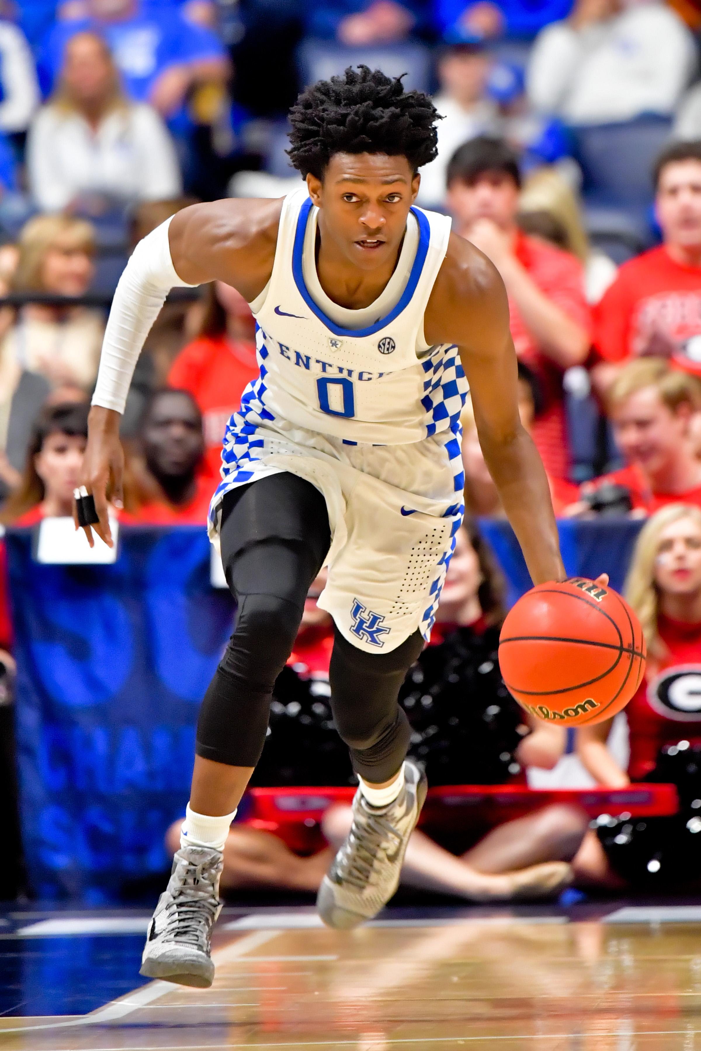 NCAA Basketball: SEC Tournament-Kentucky vs Georgia