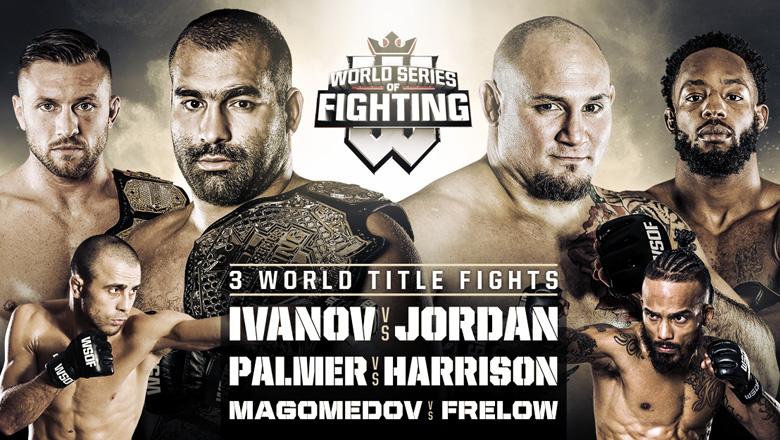 World Series of Fighting 35 on Mar. 18, 2017