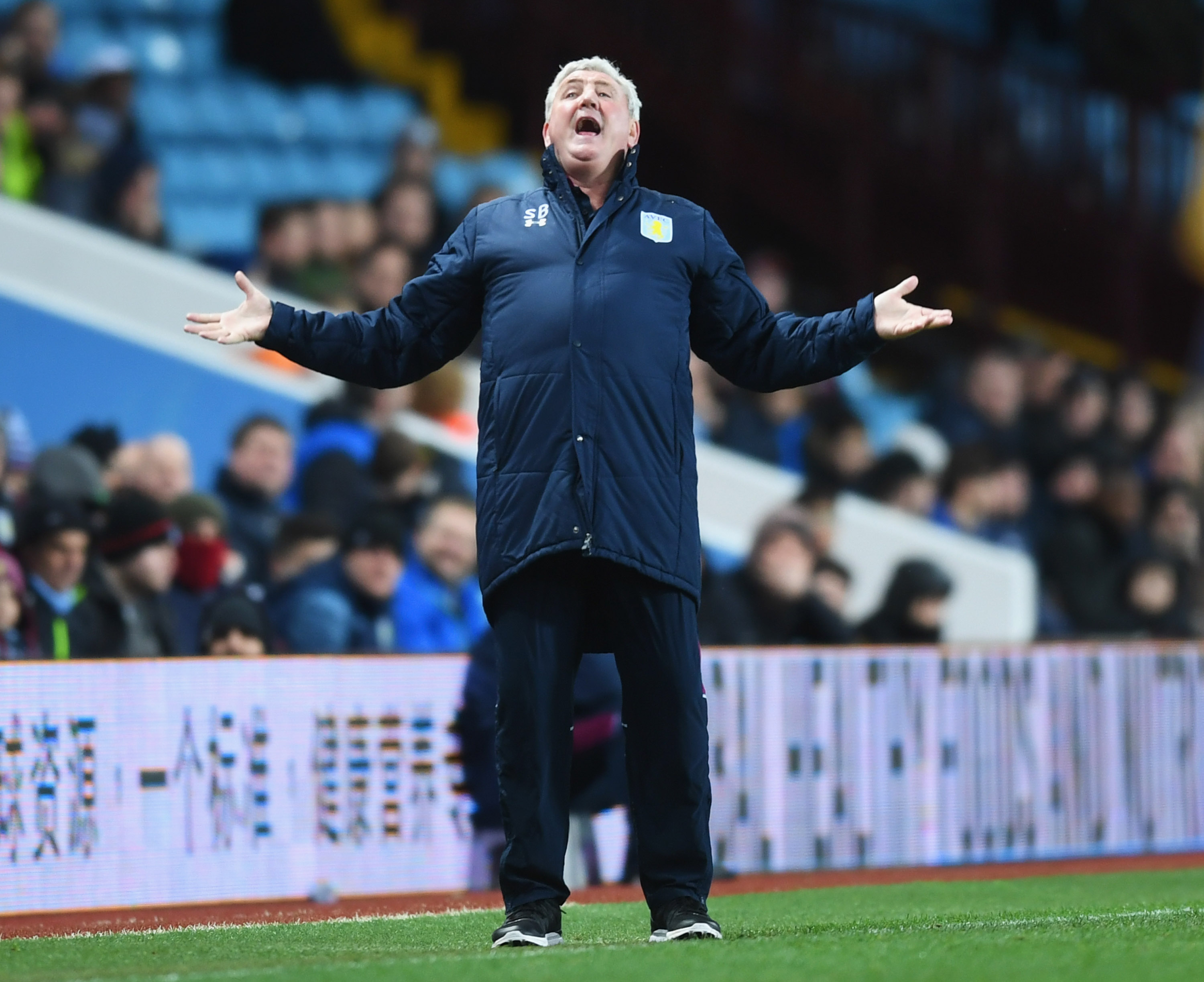 """""""Why do we always lose when we're on TV?"""" -Steve Bruce, probably"""