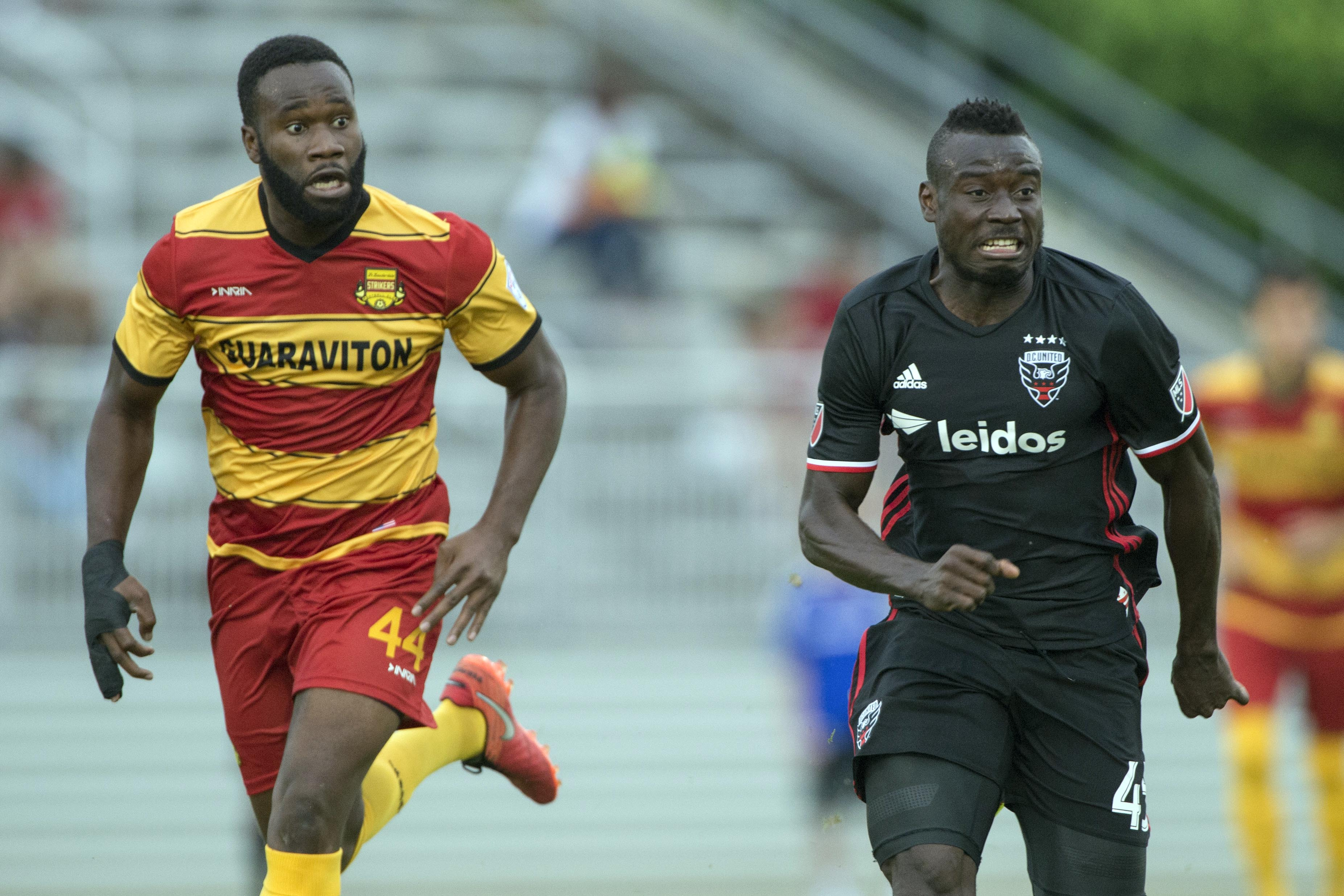 MLS: U.S. Open Cup-Fort Lauderdale Strikers at D.C. United