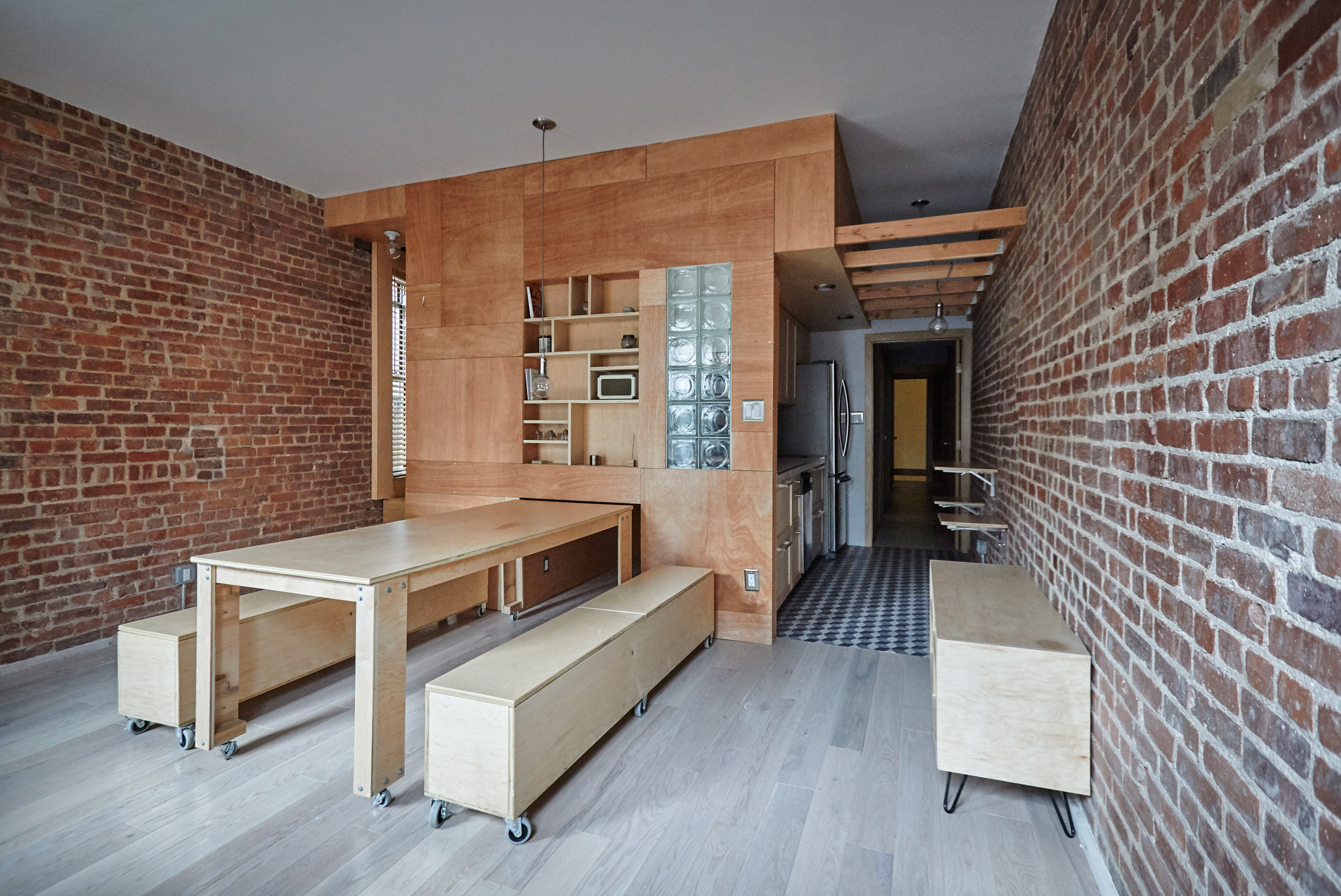 Manhattan Apartment Transforms Into Flexible Live Work Space