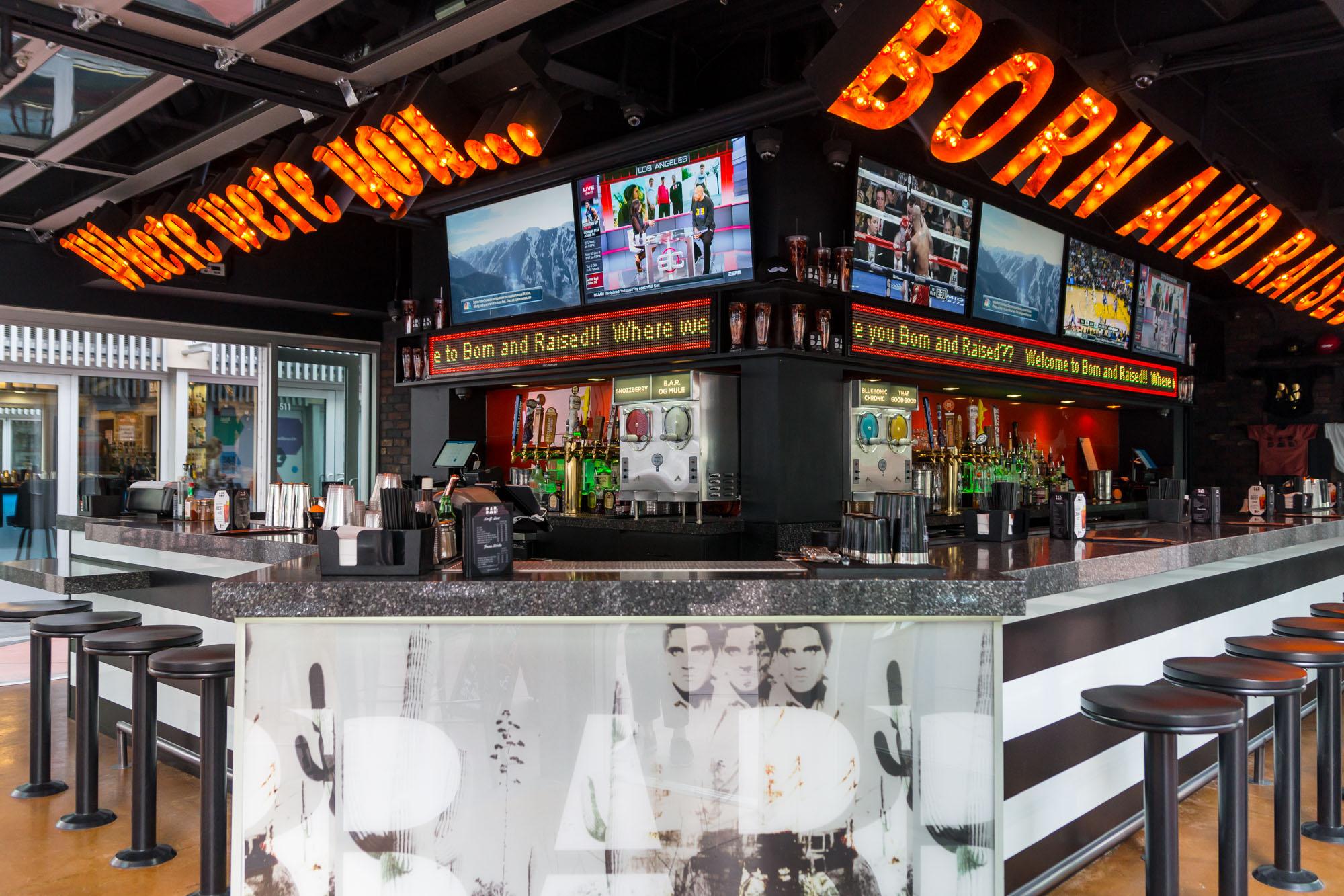 Born & Raised Craft Pub