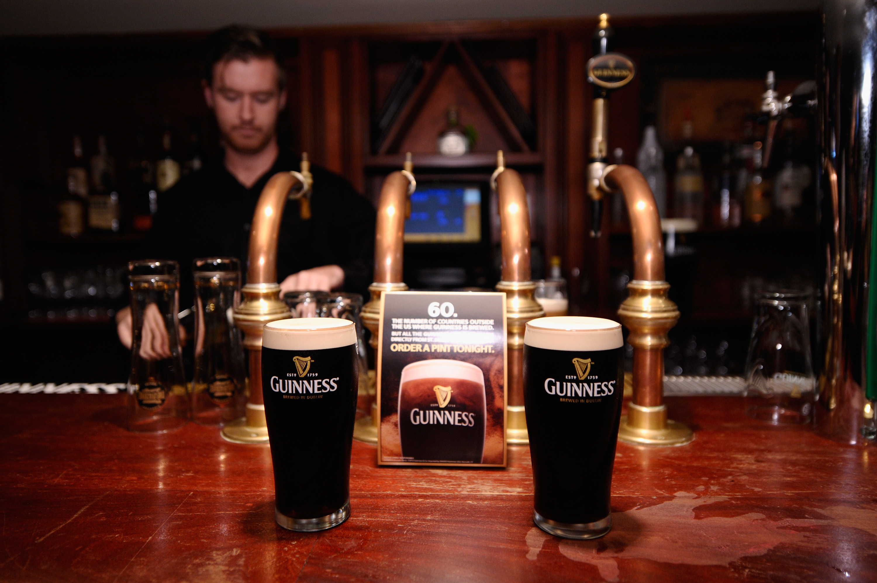 Who's ready for a Guinness?