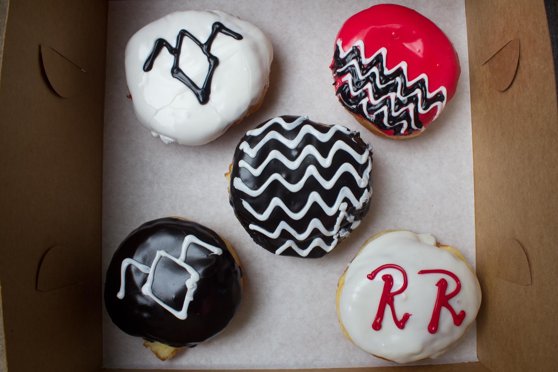 Voodoo Doughnuts' Twin Peaks doughnuts