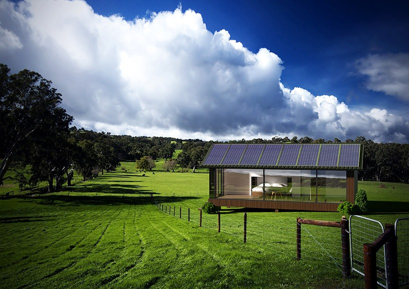Prefab tiny home, sustainable and 3D-printed, offers idyllic high-tech living