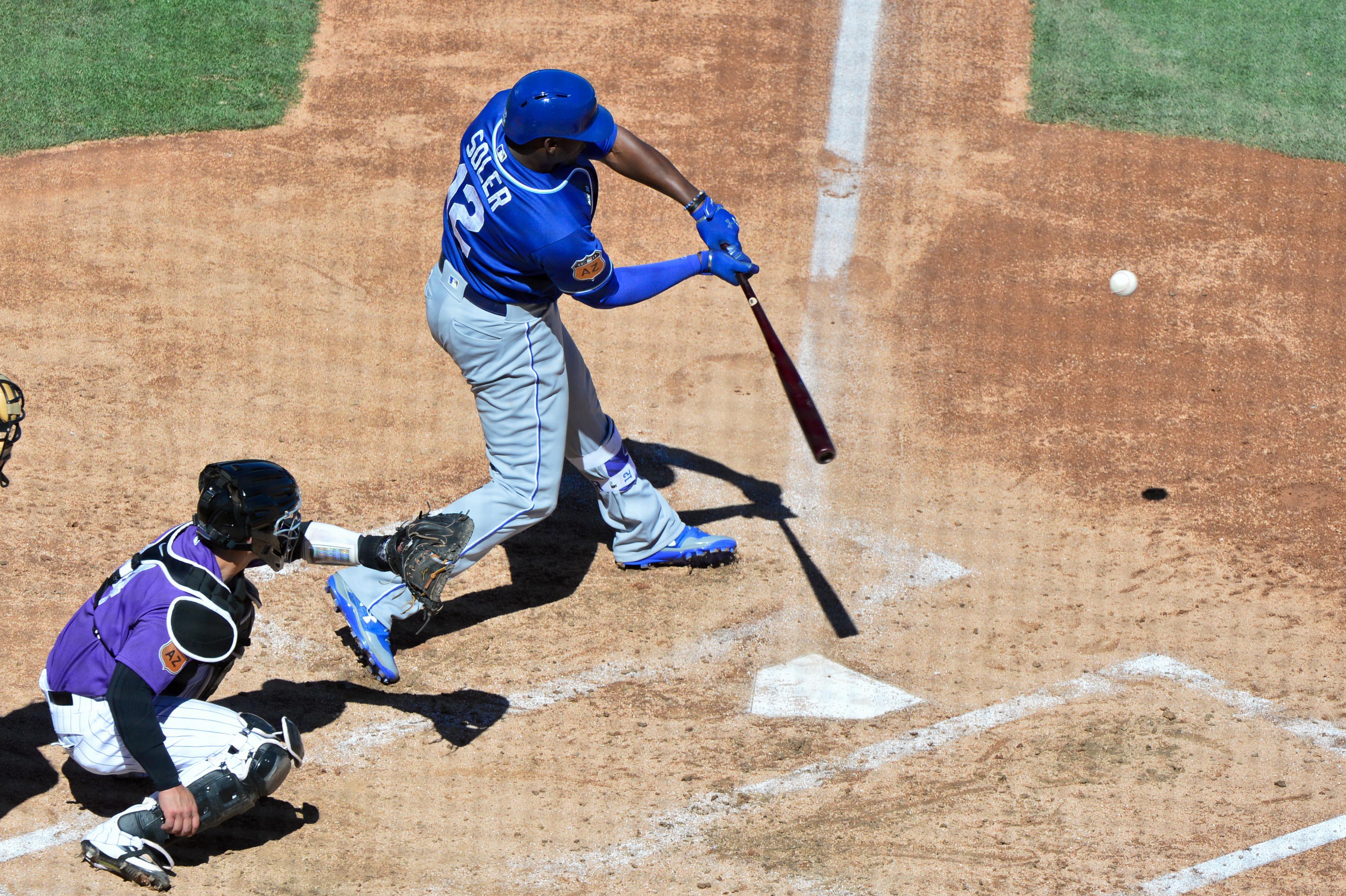 MLB: Spring Training-Kansas City Royals at Colorado Rockies