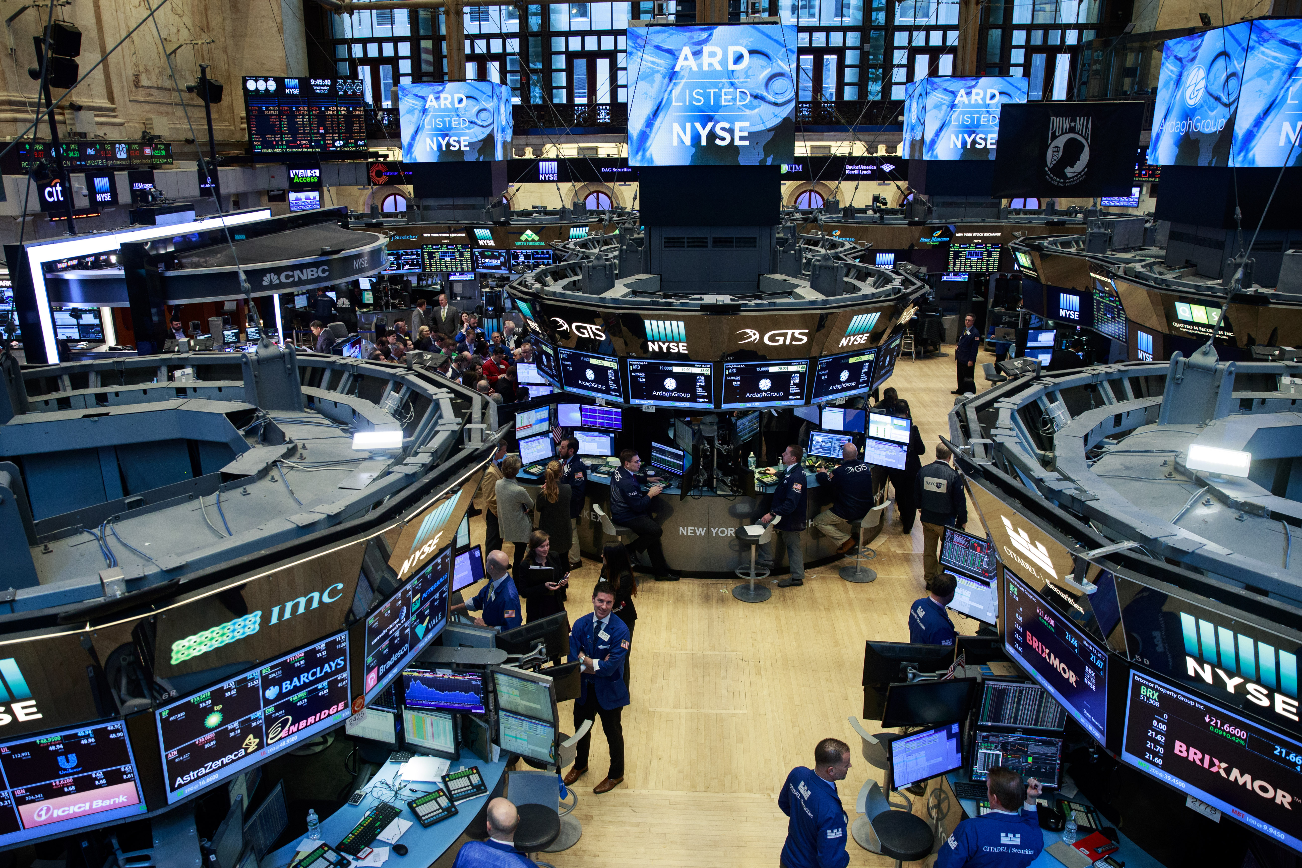 Markets React To Expected Federal Reserve Rate Hike