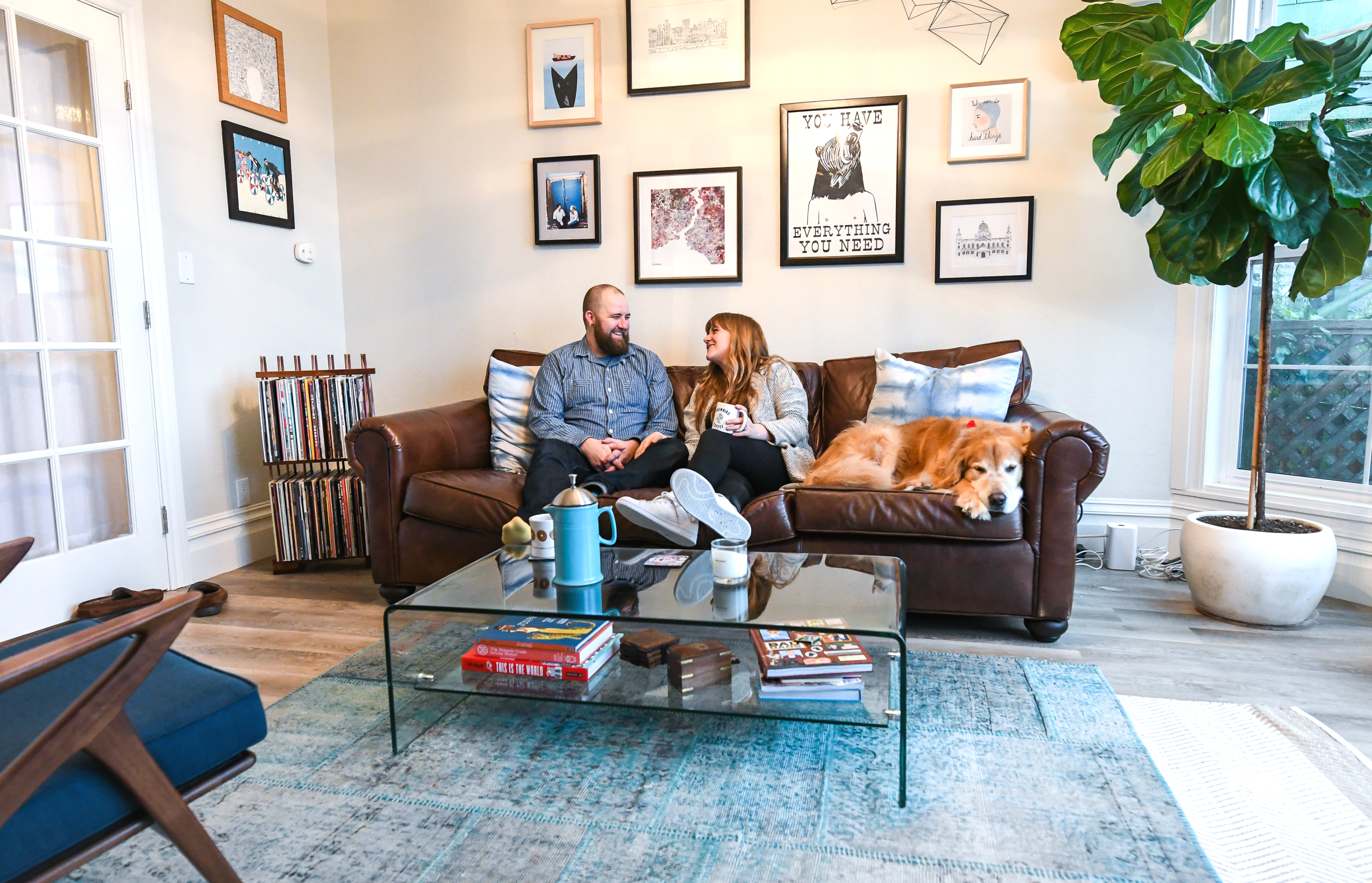 Smart home tech for renters: San Francisco couple shows how it's done