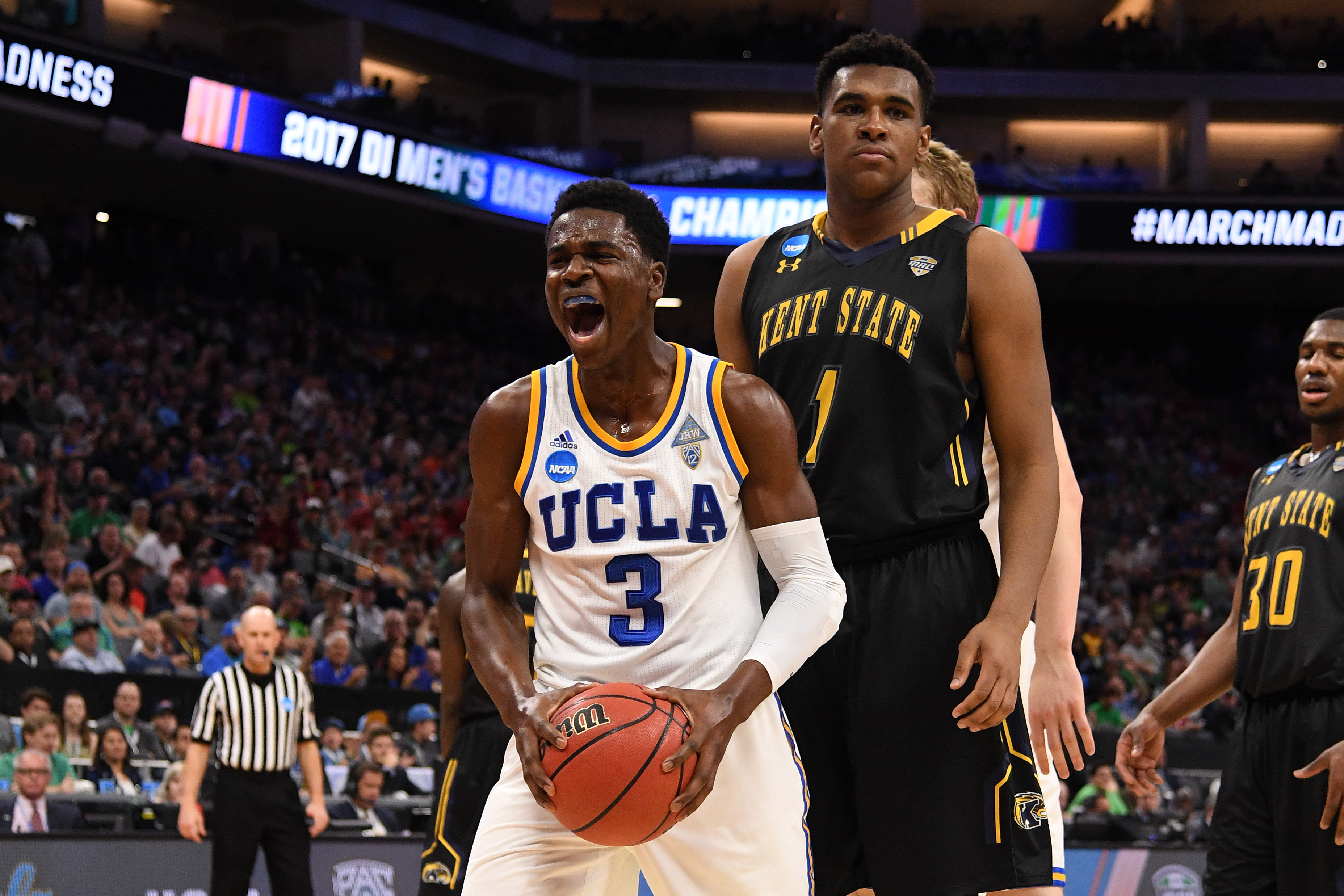 NCAA Basketball: NCAA Tournament-First Round-Kent State and UCLA Bruins