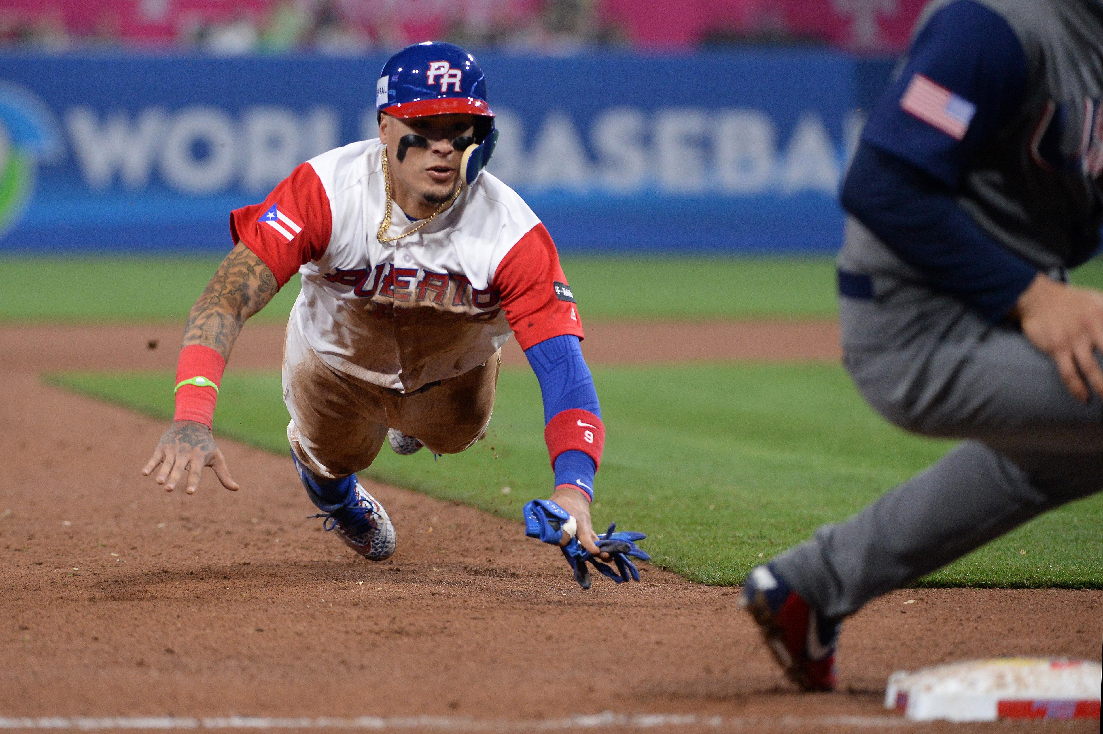 Baseball: World Baseball Classic-USA at Puerto Rico