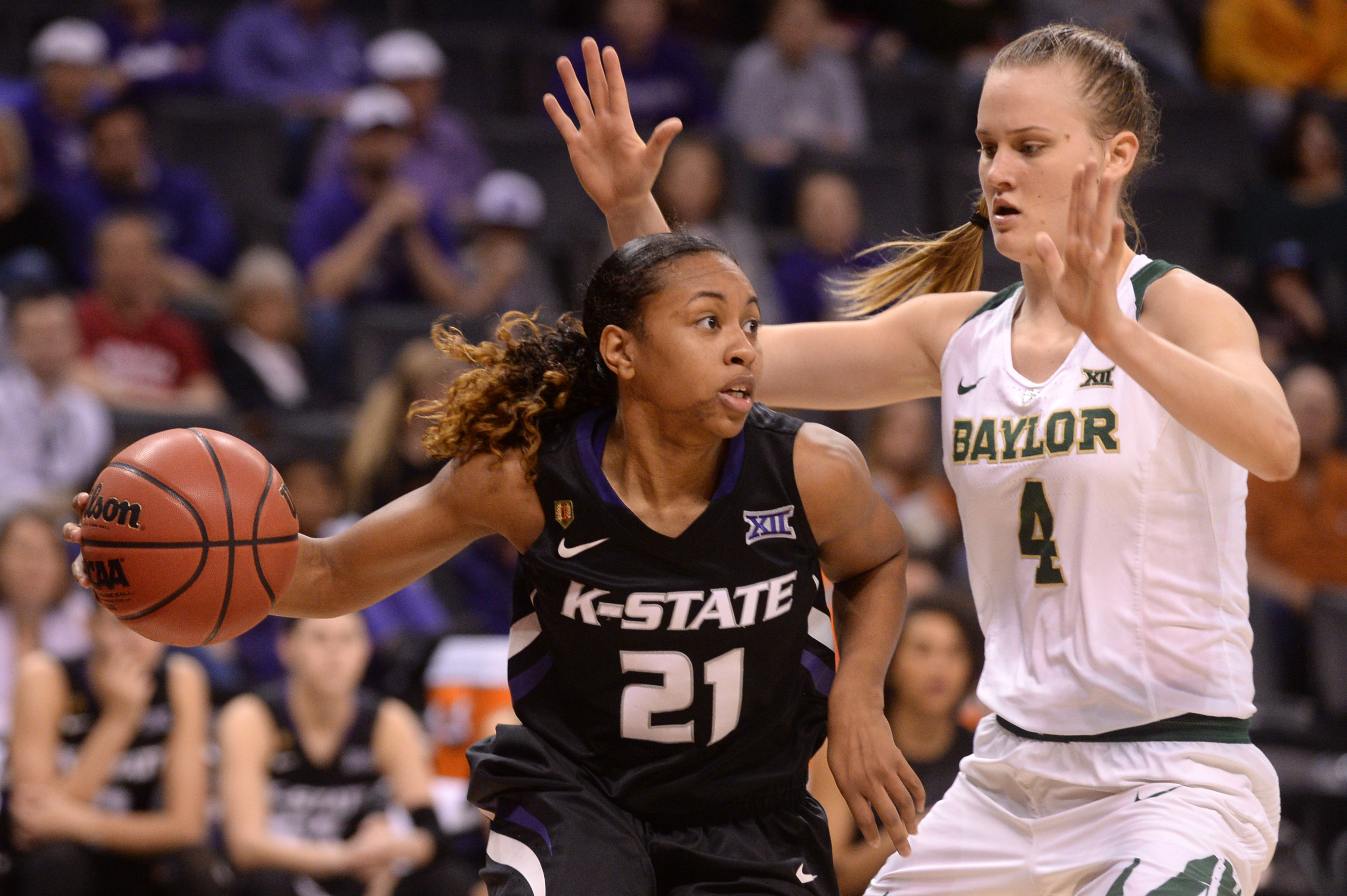Karlya Middlebrook has come on strong in the second half of the season. Can she help lead the Cats past Drake?