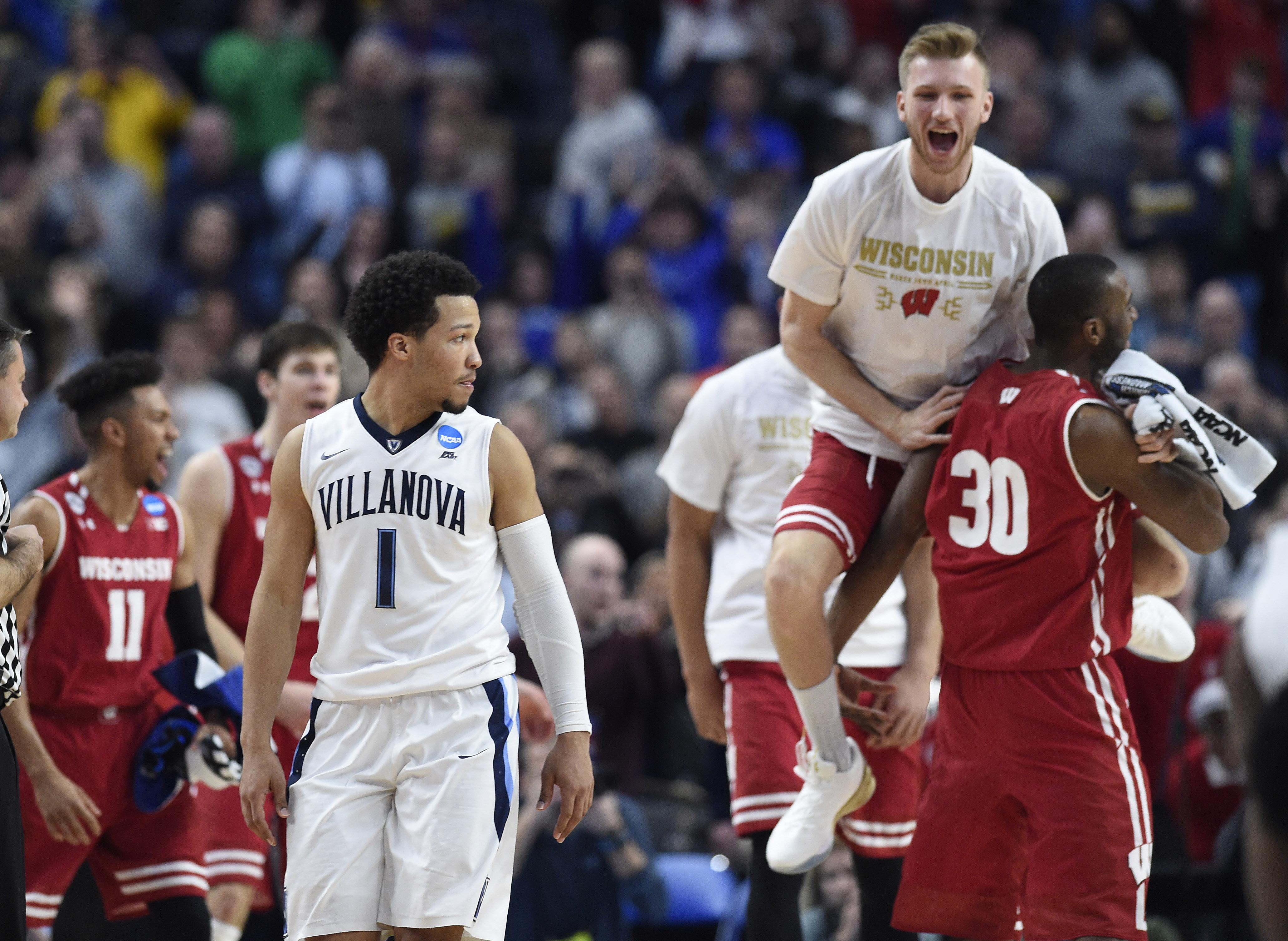 NCAA Basketball: NCAA Tournament-Second Round-Wisconsin vs Villanova