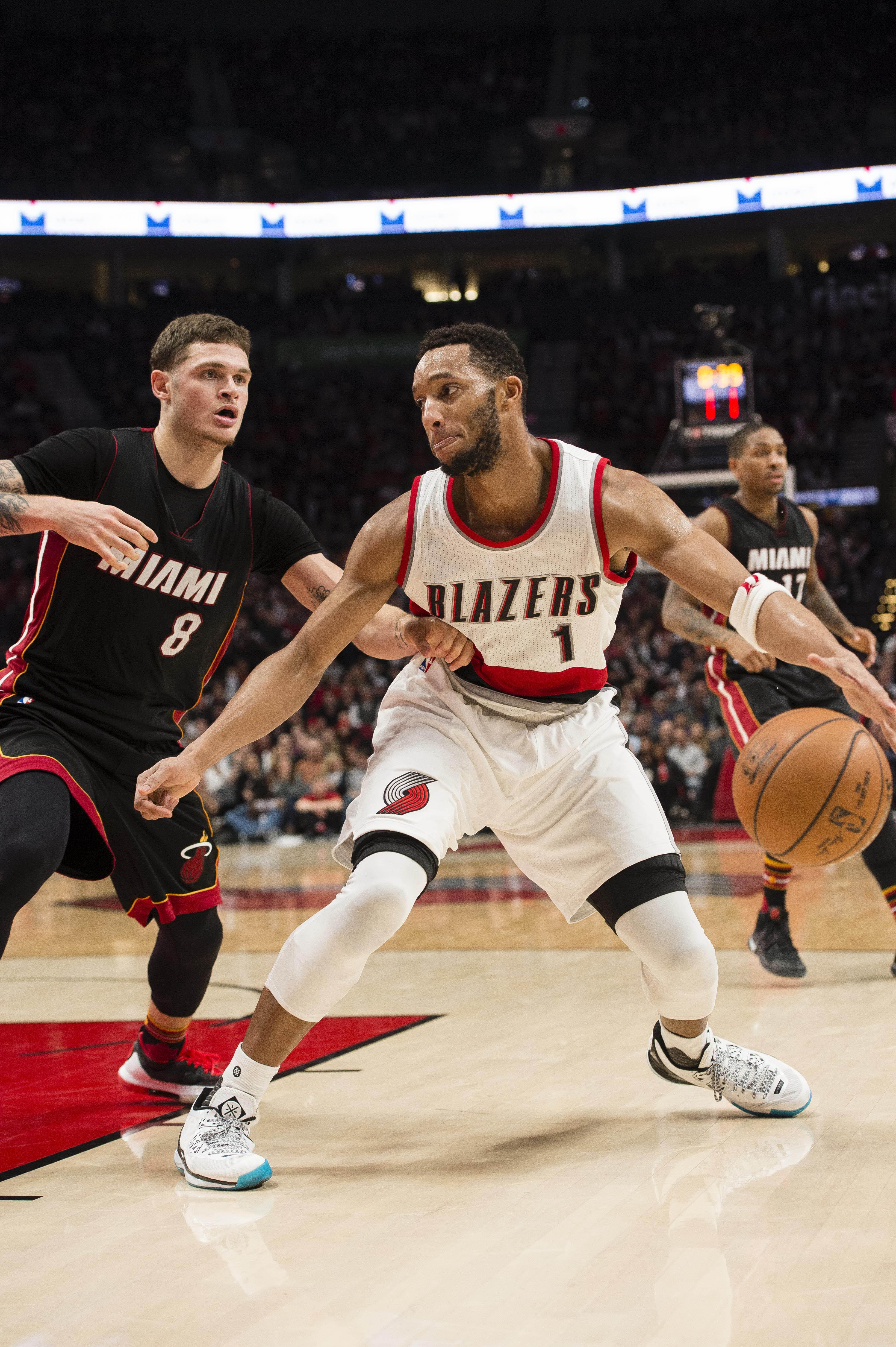 NBA: Miami Heat at Portland Trail Blazers