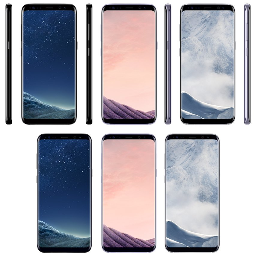 samsung galaxy s8 phone. a new samsung galaxy s8 leak reveals three color options and pricing phone