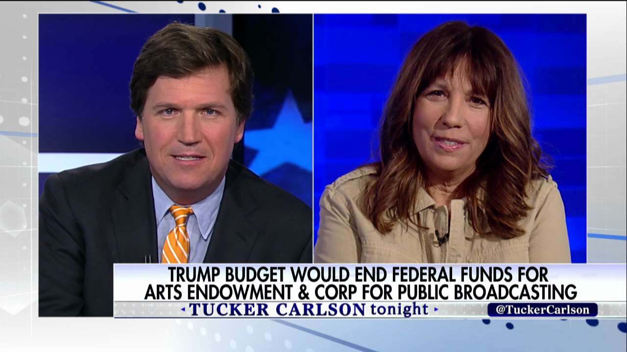 """Tucker Carlson said that the NEA is """"welfare for rich, liberal elites"""" on his Fox show on March 17."""