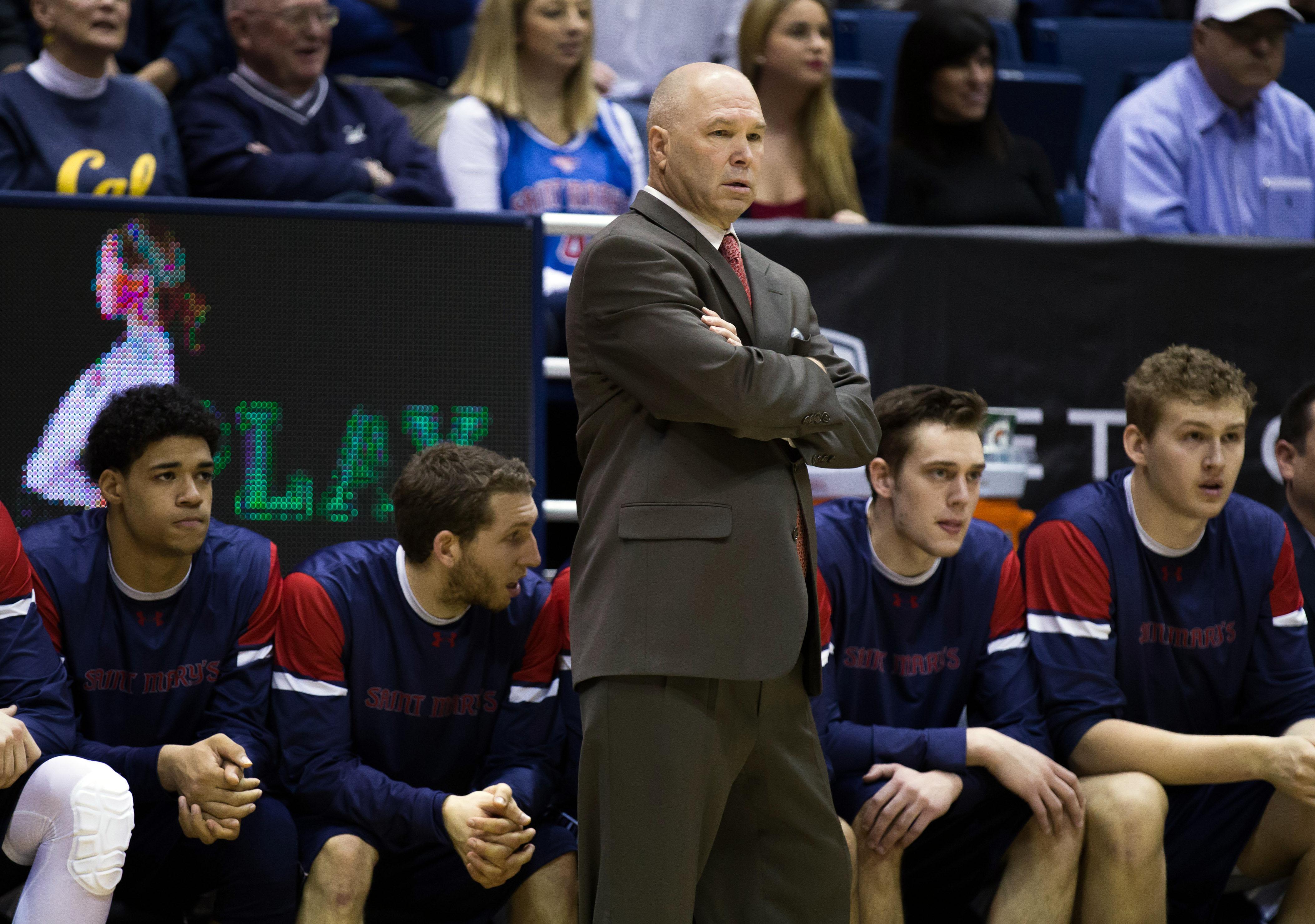 NCAA Basketball: St. Mary's at California