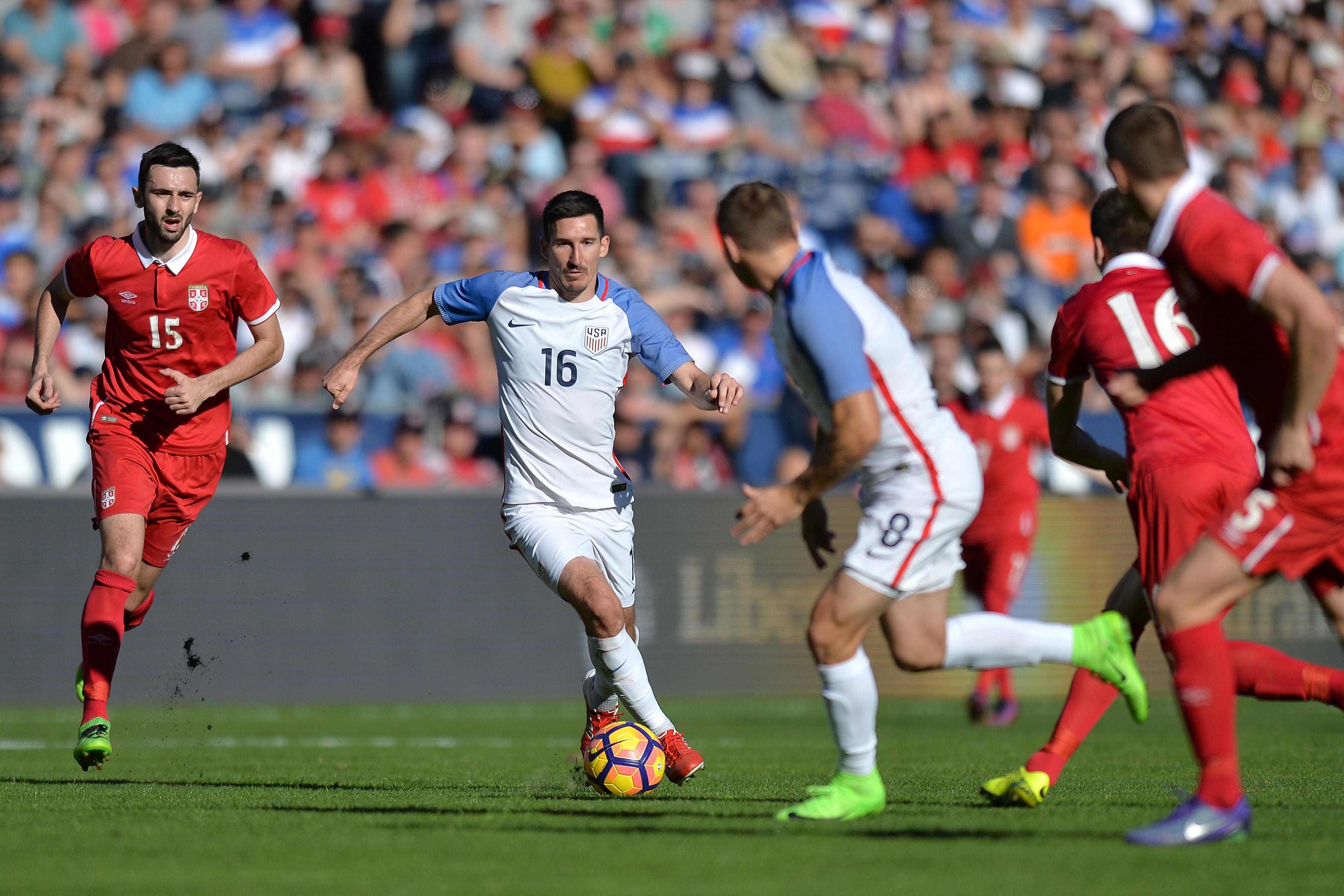 Soccer: U.S. Men's National International Friendly-Serbia at USA
