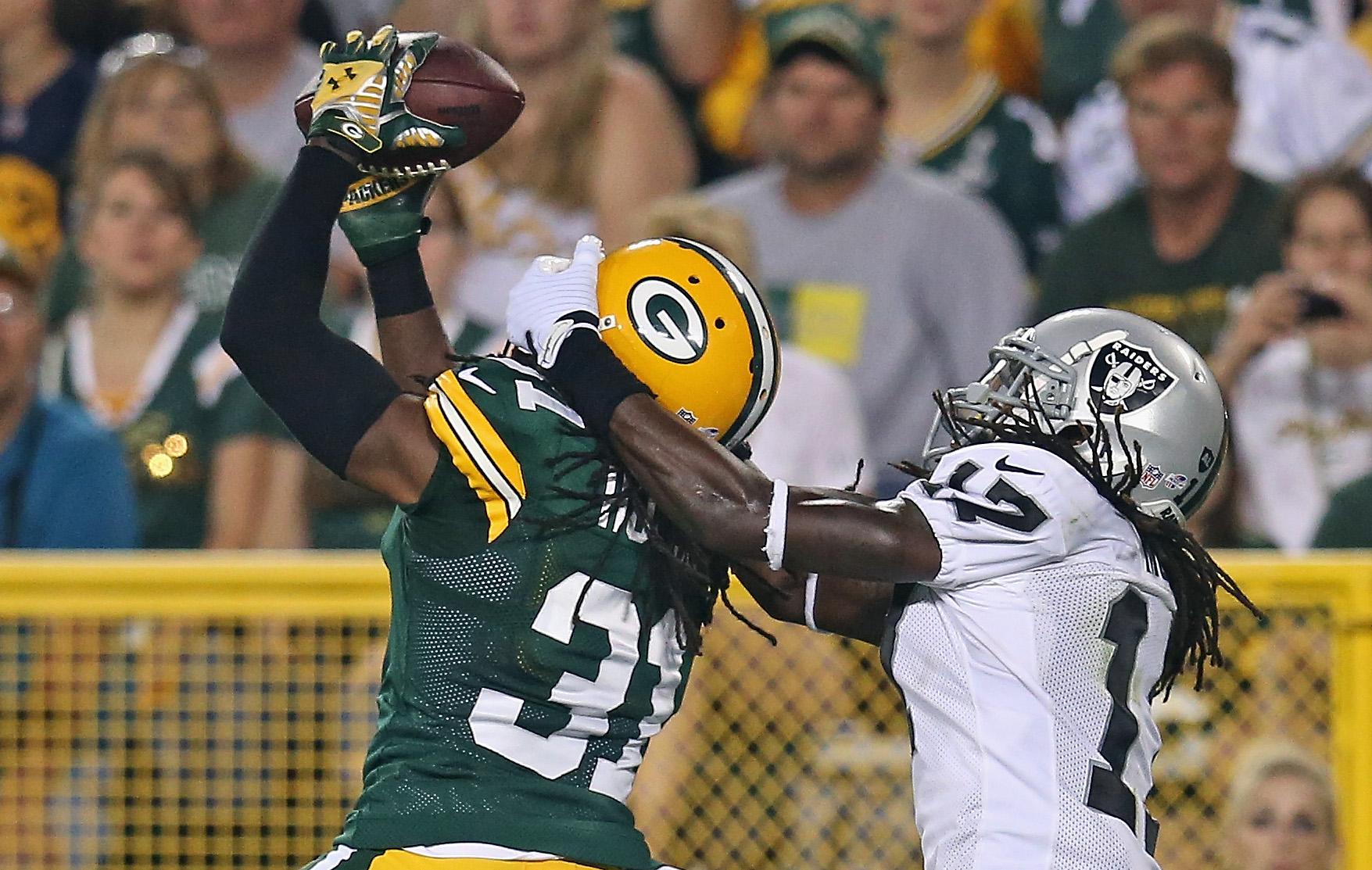 Oakland Raiders v Green Bay Packers