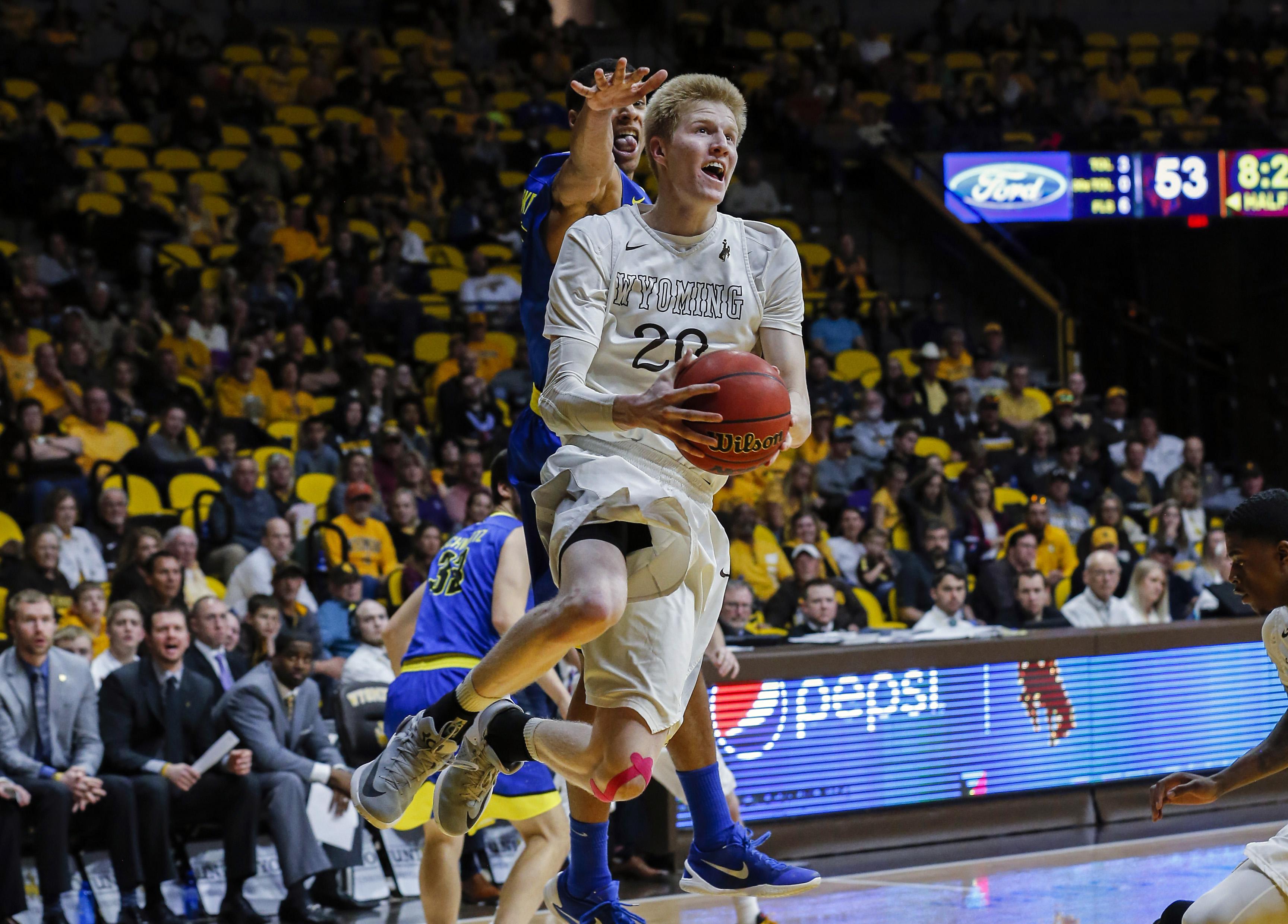 NCAA Basketball: San Jose State at Wyoming