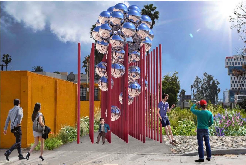 Public Art Curbed La