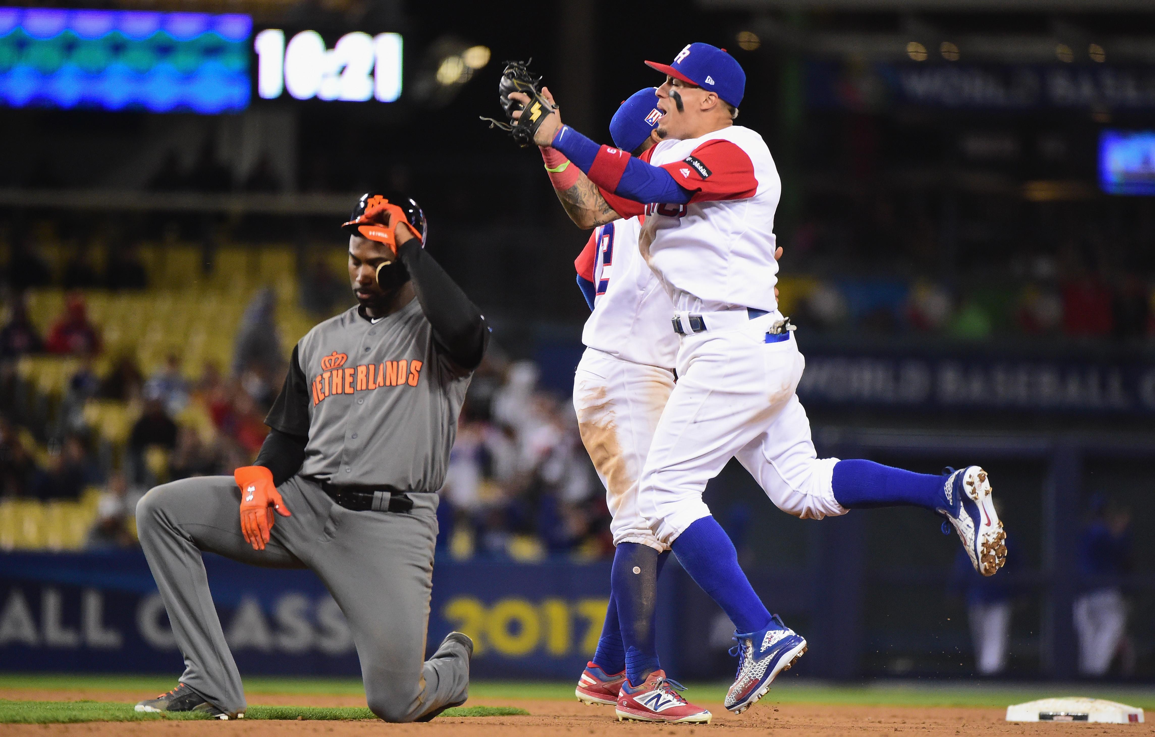 World Baseball Classic - Championship Round - Game 1 - Netherlands v Puerto Rico
