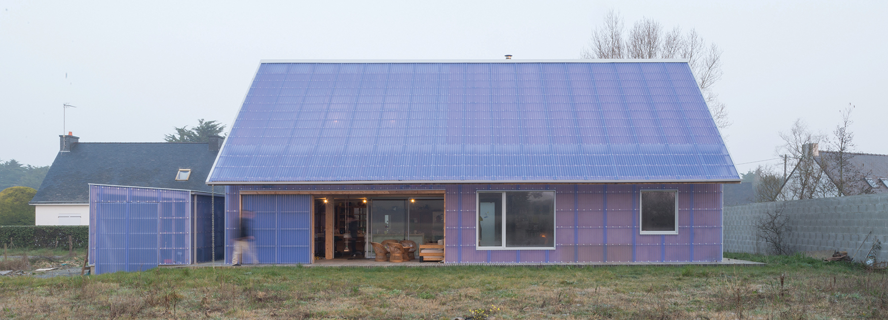 This eco-friendly house in France cost under $200K to build