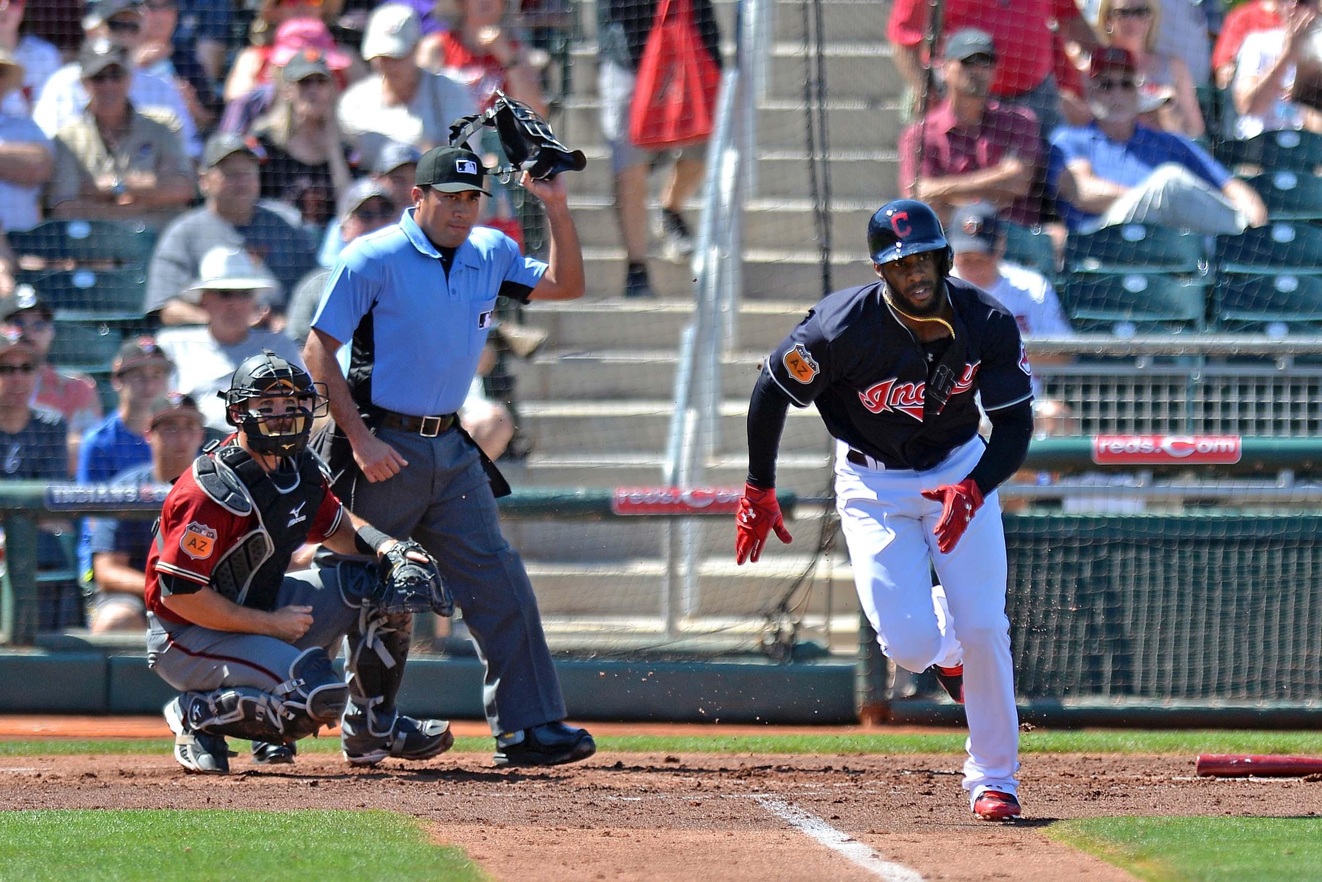 MLB: Spring Training-Arizona Diamondbacks at Cleveland Indians