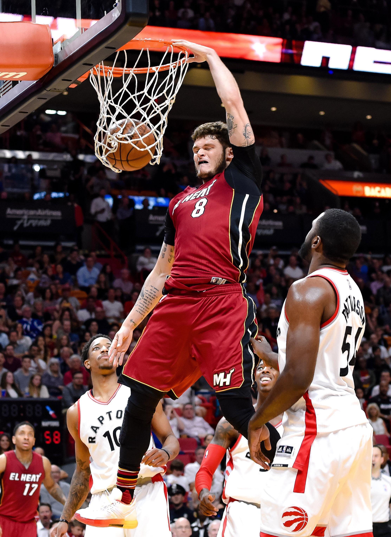 NBA: Toronto Raptors at Miami Heat