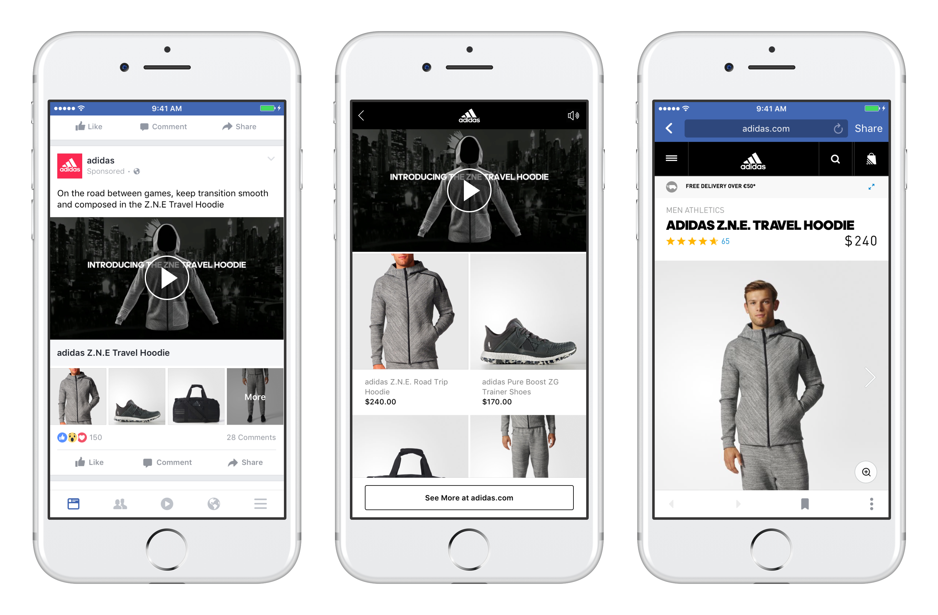 Facebook has a new type of video ad meant to get people shopping