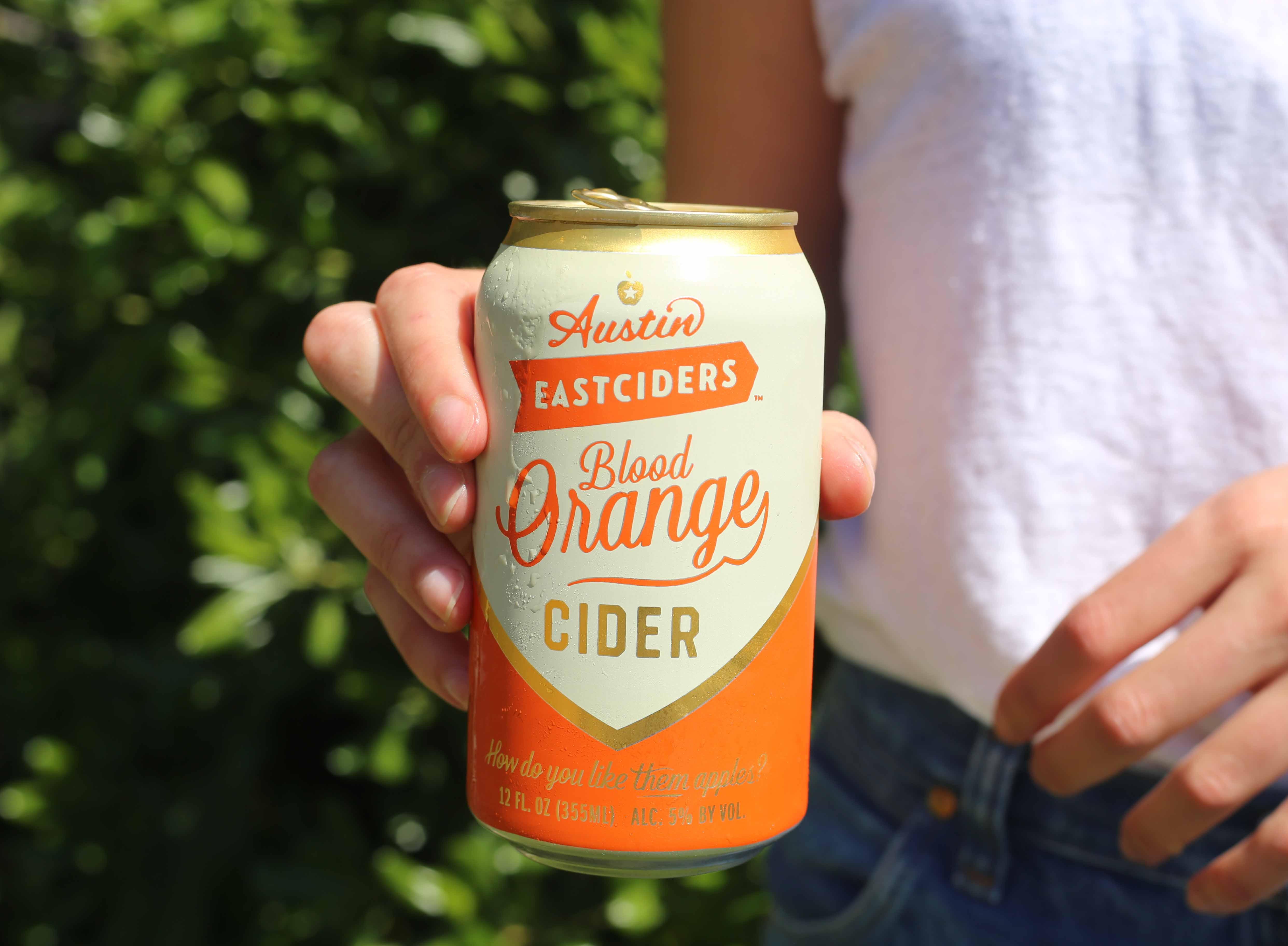 Austin Eastciders' blood orange cider