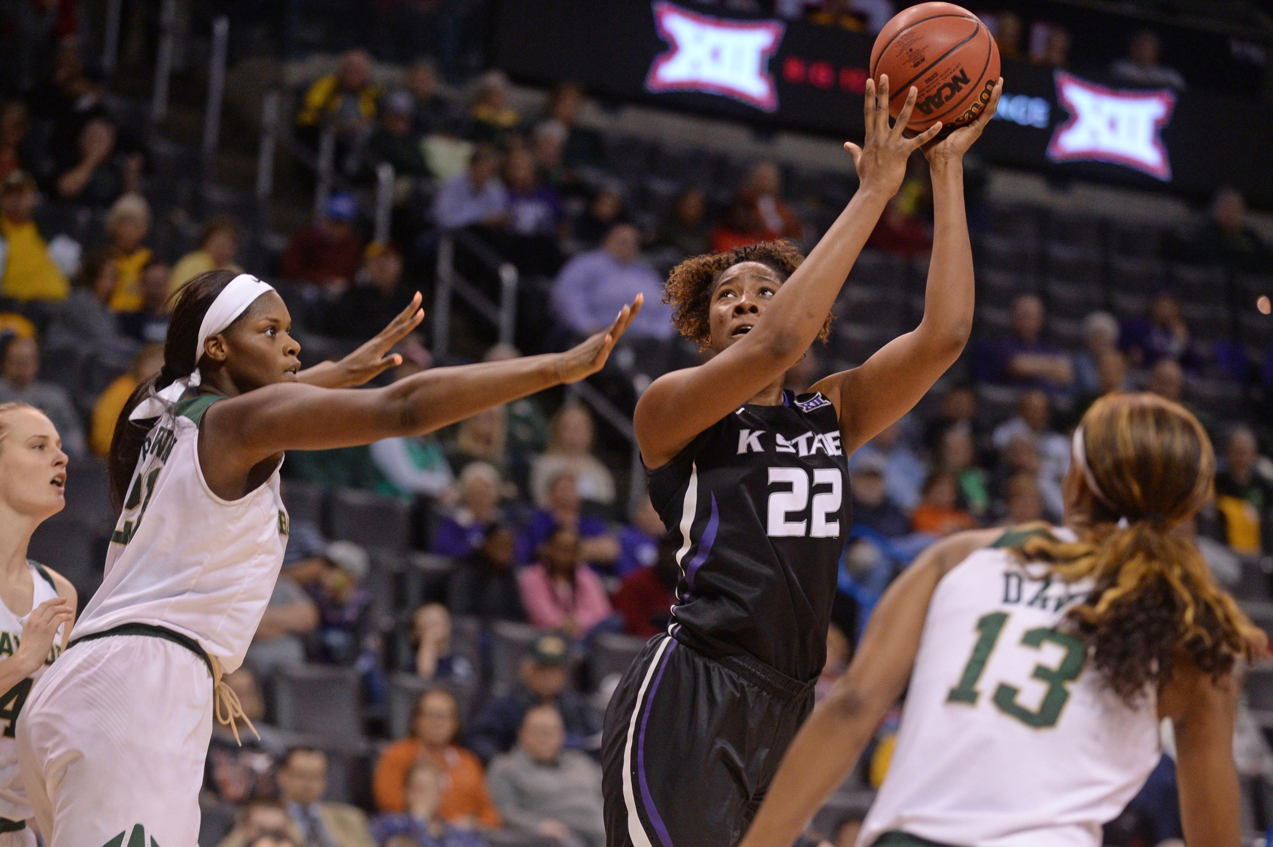 NCAA Womens Basketball: Big 12 Conference Tournament-Baylor vs Kansas State