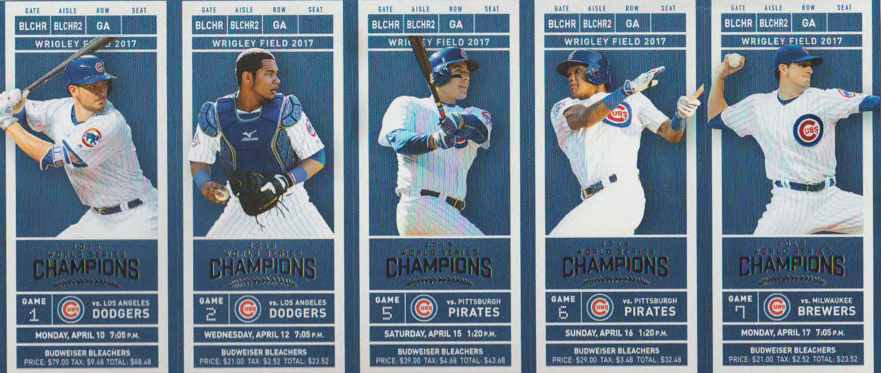 Chicago Cubs ticket exchanges - Bleed Cubbie Blue