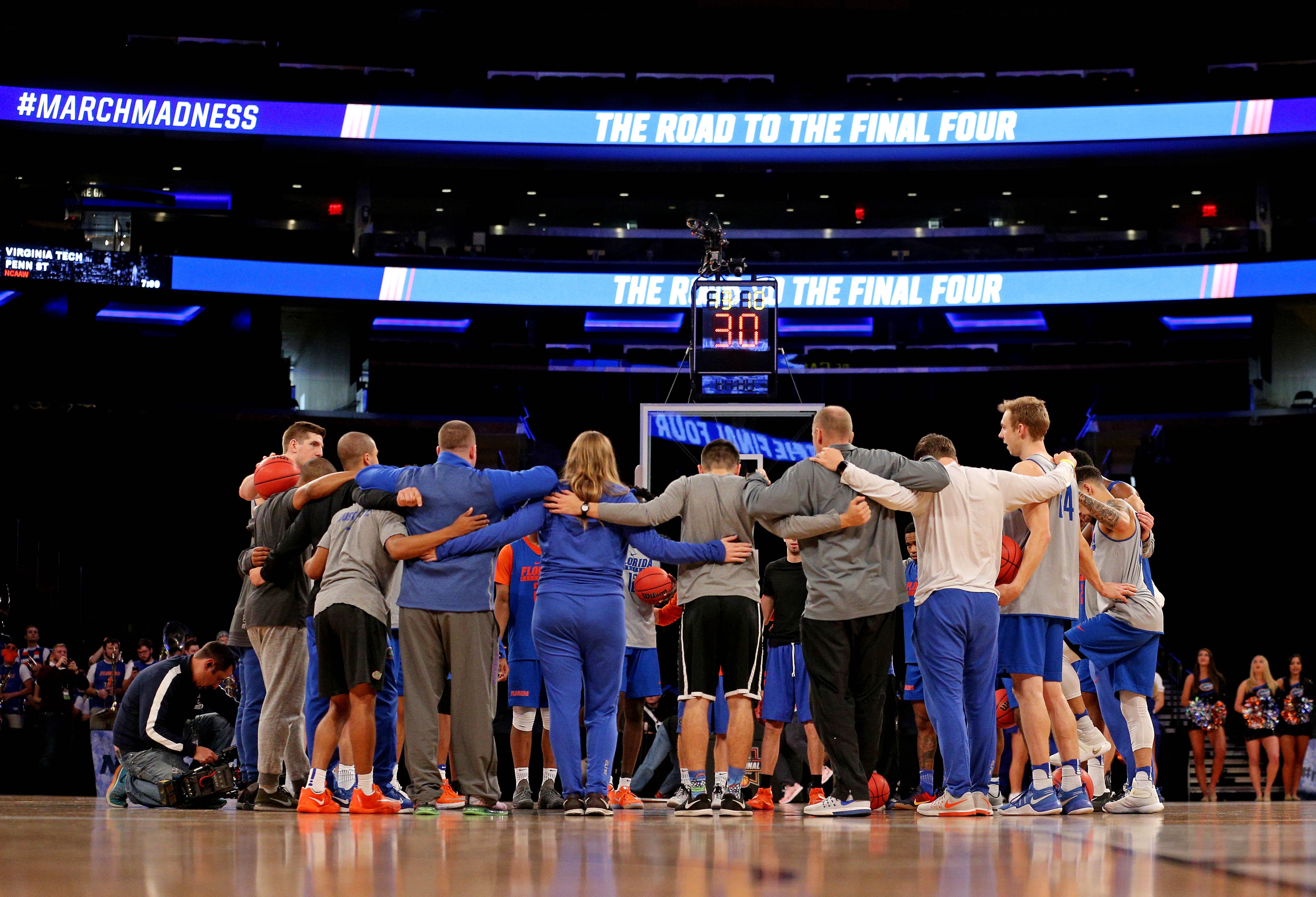 NCAA Basketball: NCAA Tournament-East Regional Practice