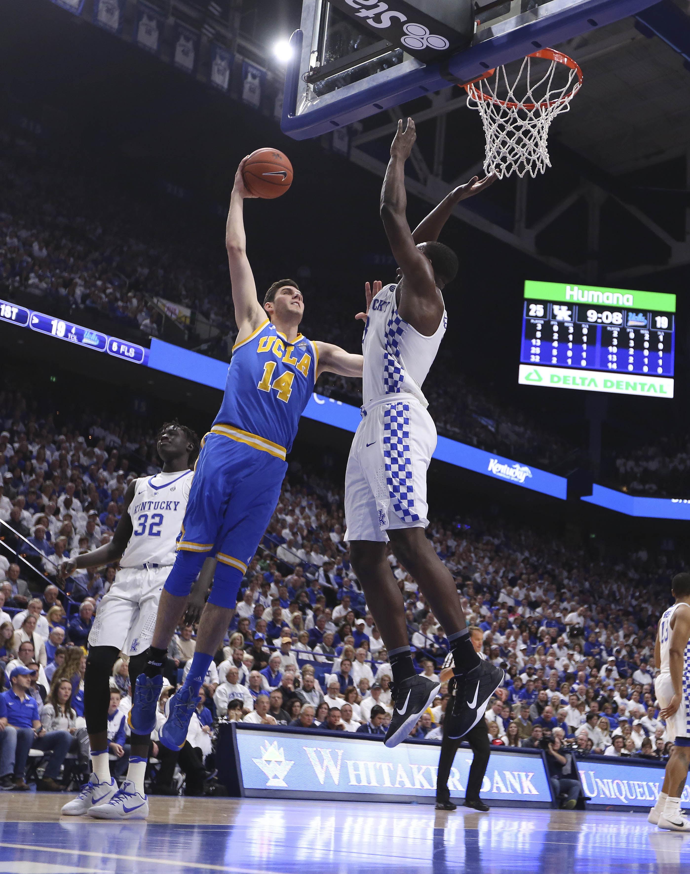 NCAA Basketball: UCLA at Kentucky