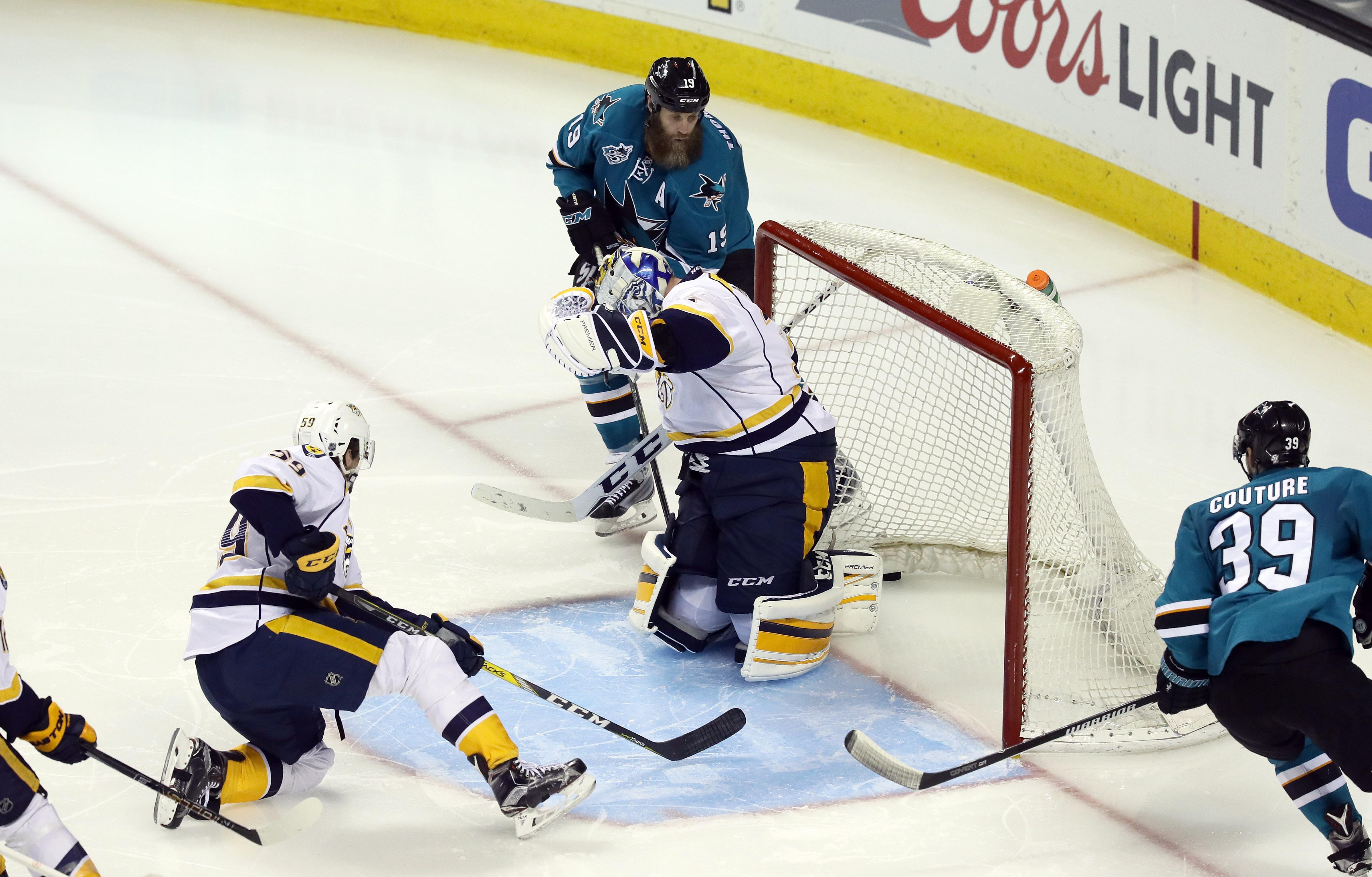 Nashville Predators v San Jose Sharks - Game Seven