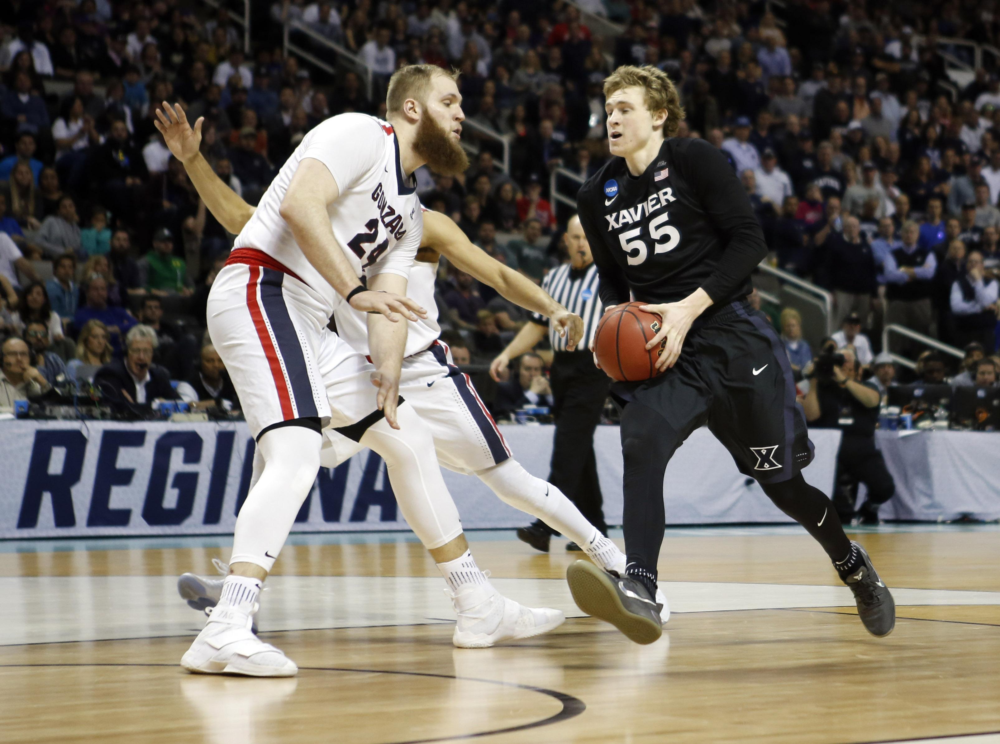 NCAA Basketball: NCAA Tournament-West Regional-Gonzaga vs Xavier