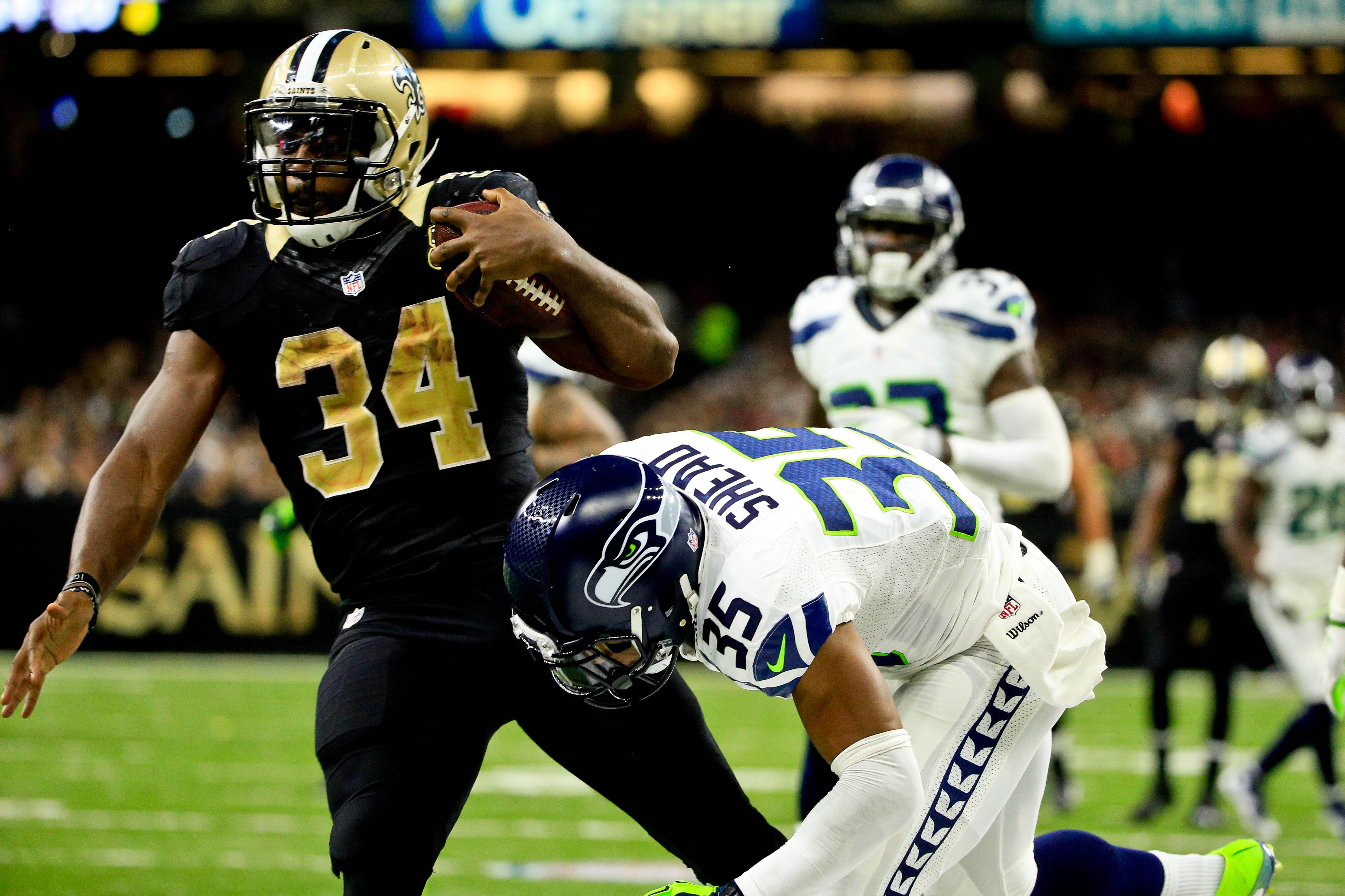 NFL: Seattle Seahawks at New Orleans Saints