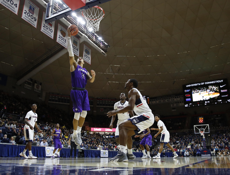 NCAA Basketball: Furman at Connecticut