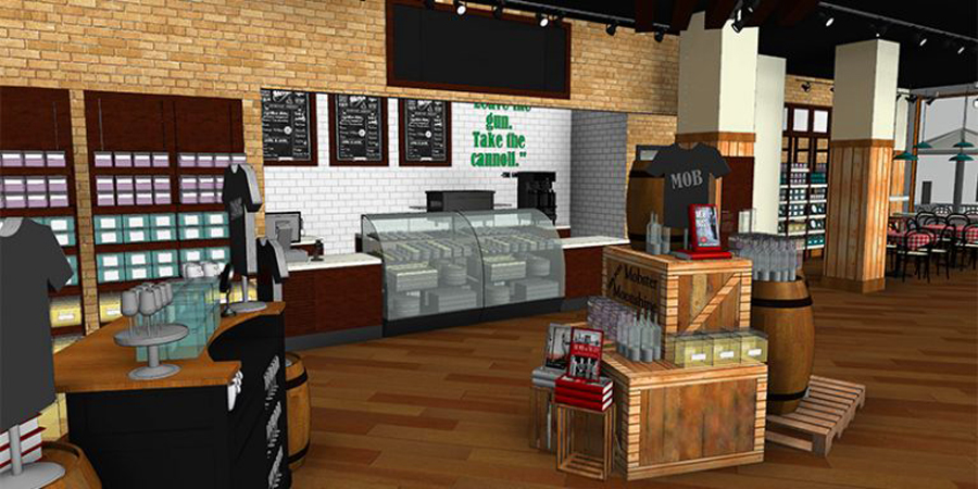 Mob Cafe rendering
