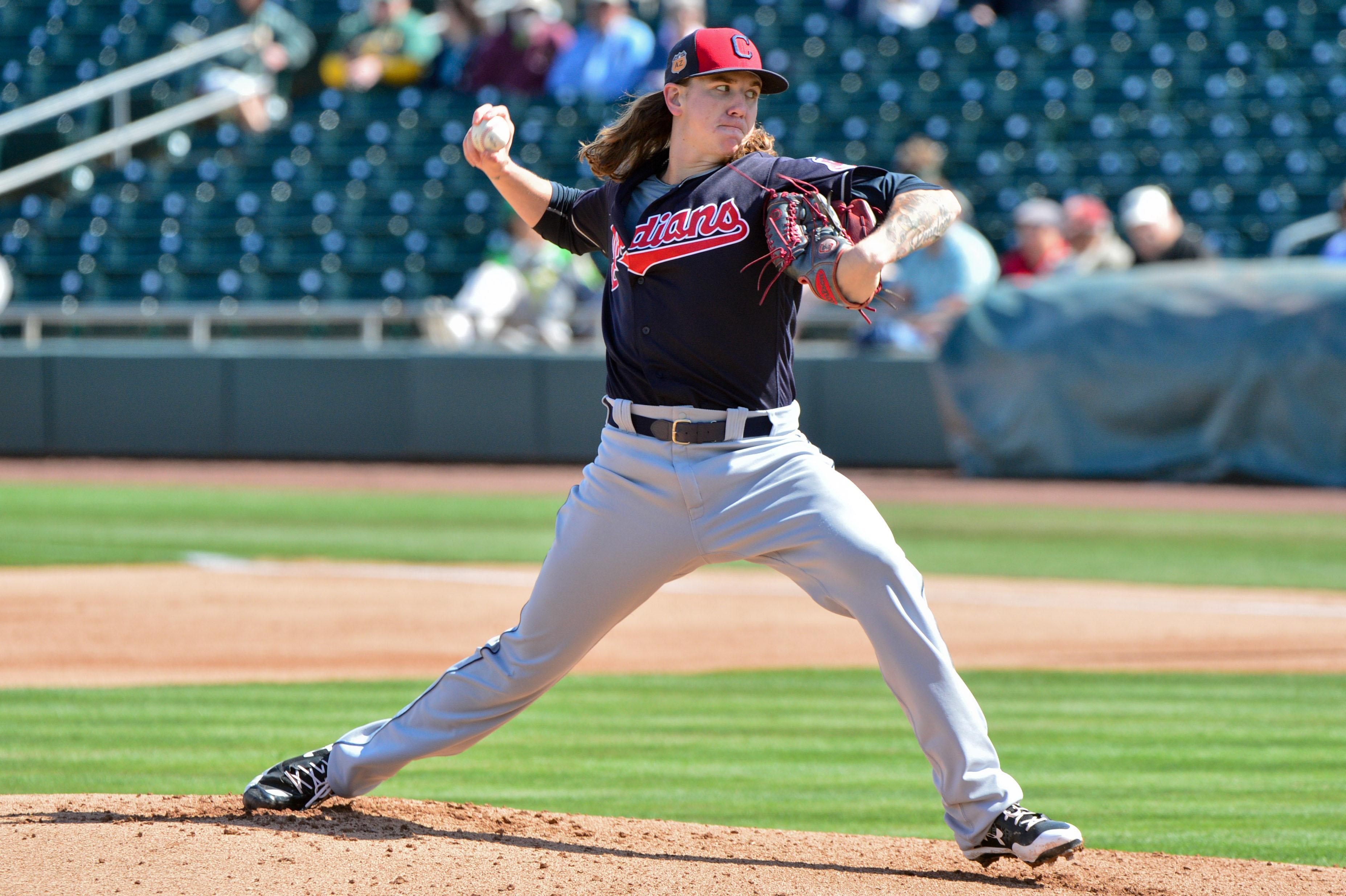 MLB: Spring Training-Cleveland Indians at Oakland Athletics