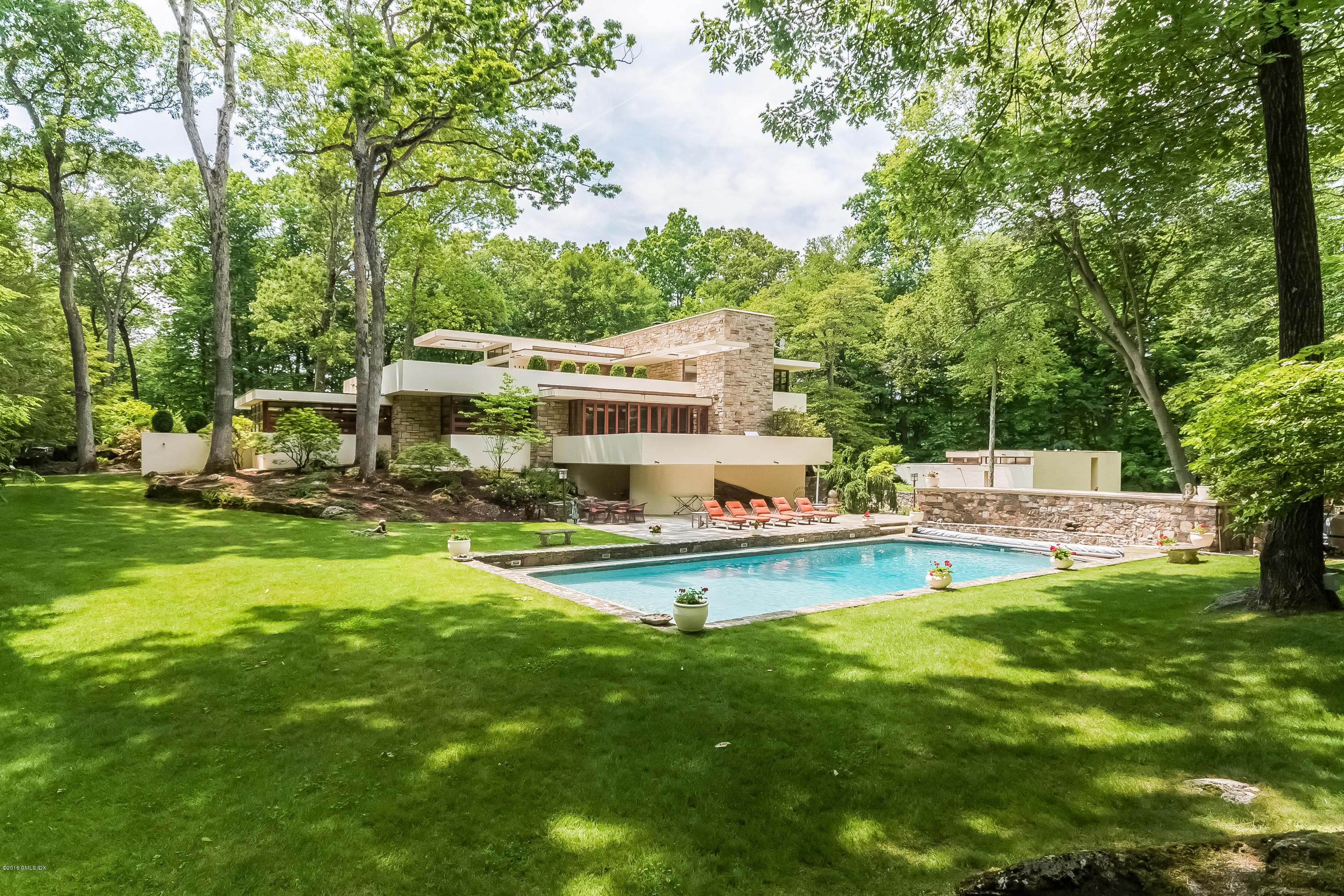'70s Fallingwater-inspired home asks $3.5M