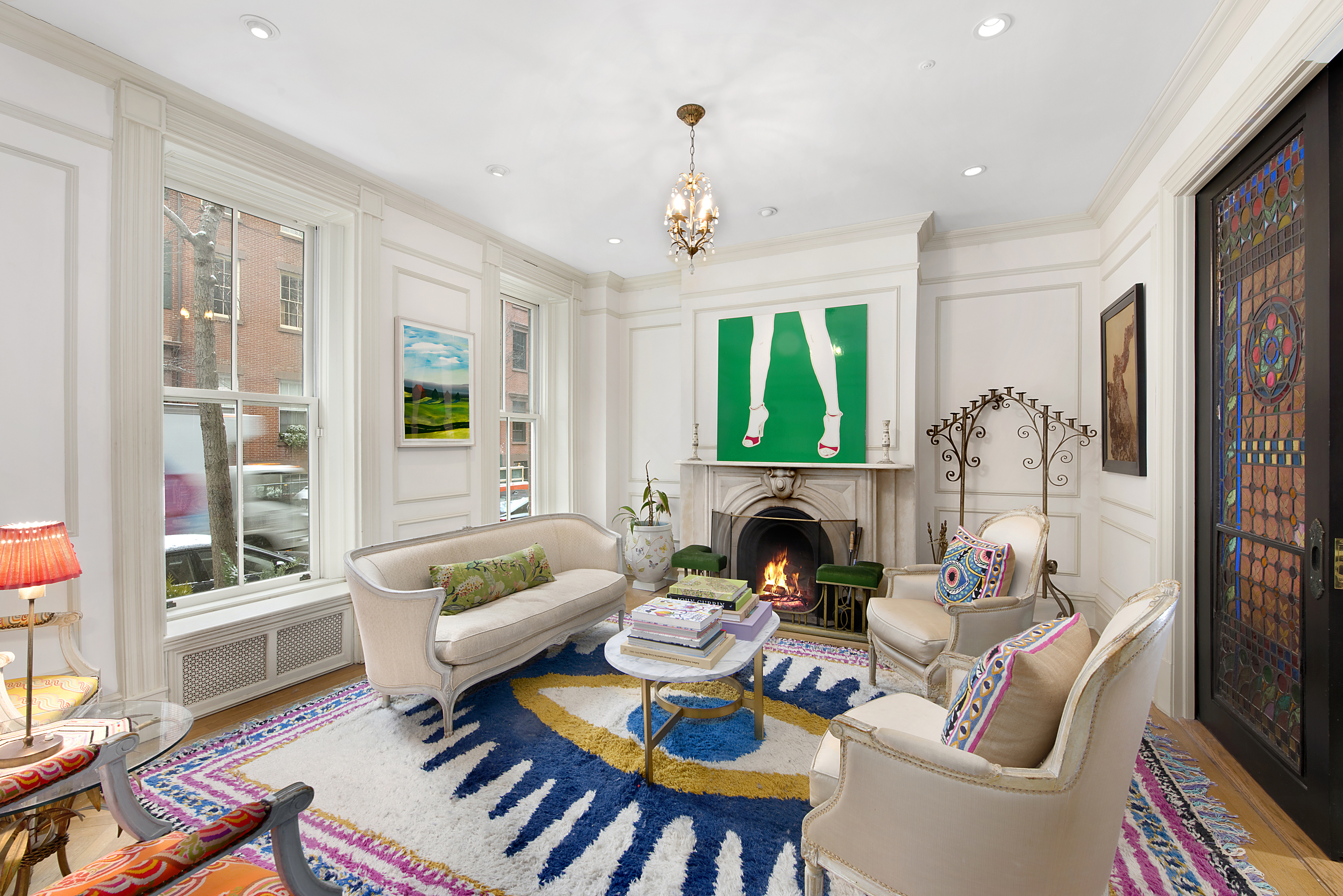 Greenwich Village Federal Style Townhouse Dating To 1829 Seeks 12m