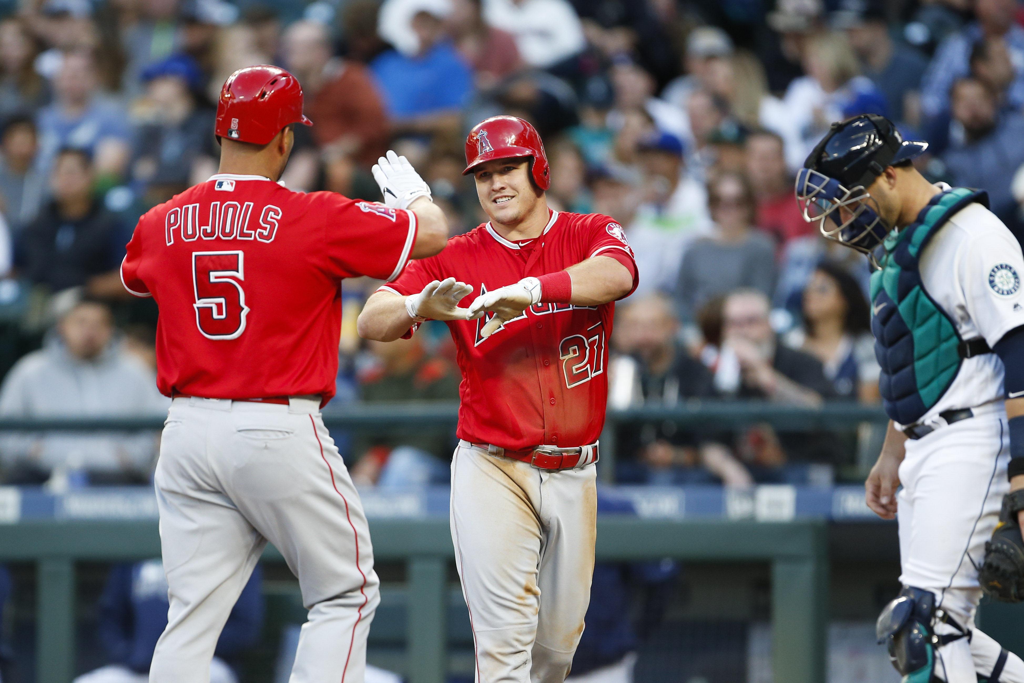 MLB: Los Angeles Angels at Seattle Mariners