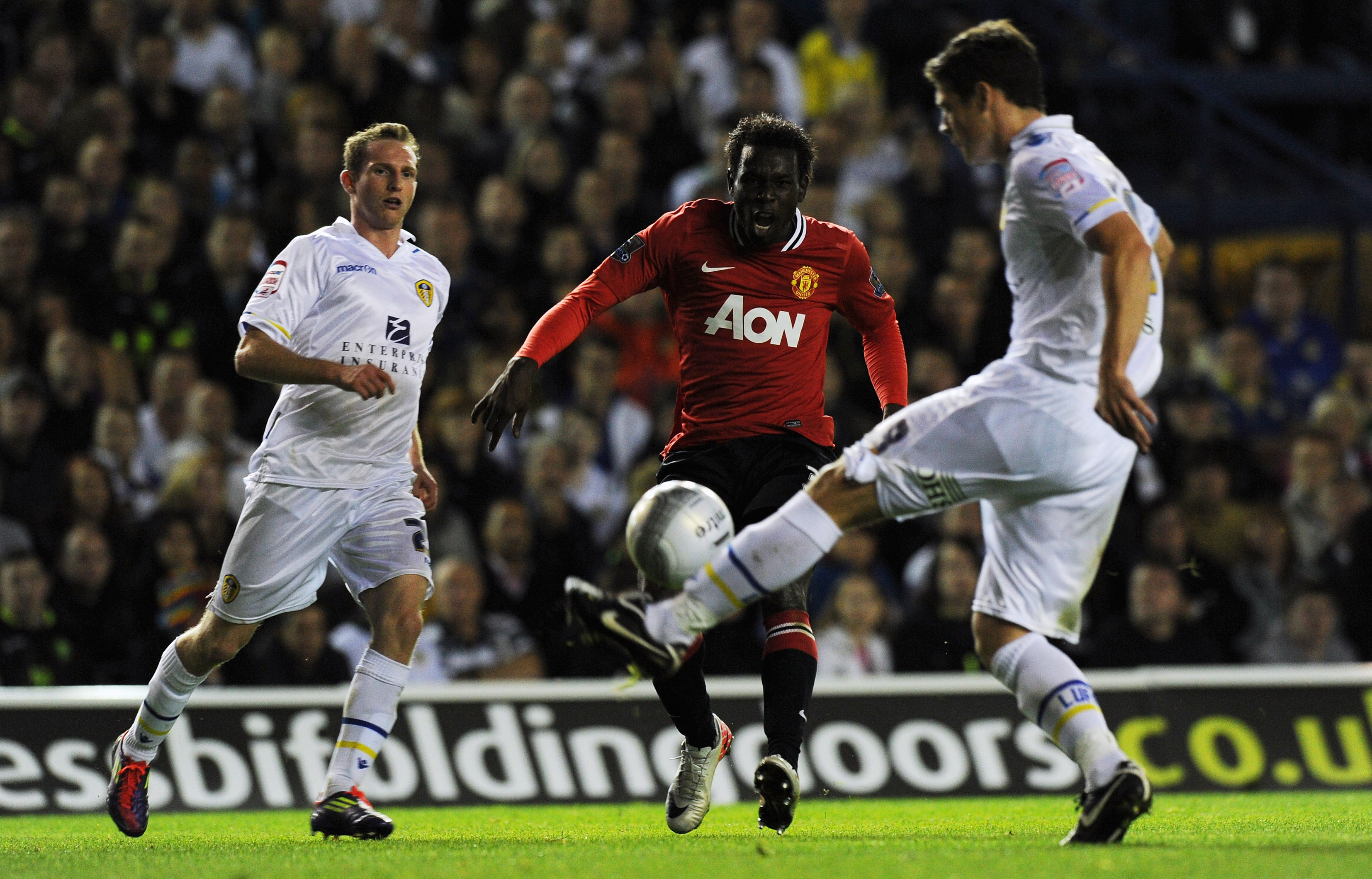 Leeds United v Manchester United - Carling Cup Third Round