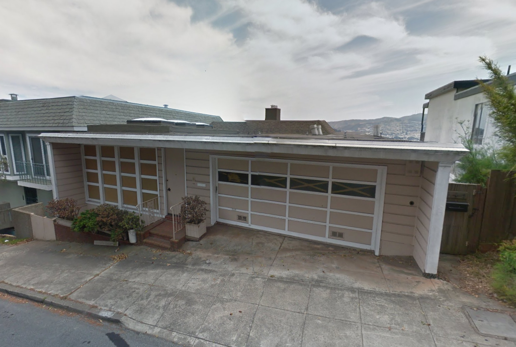 A one-story Midcentury house in Glen Park.