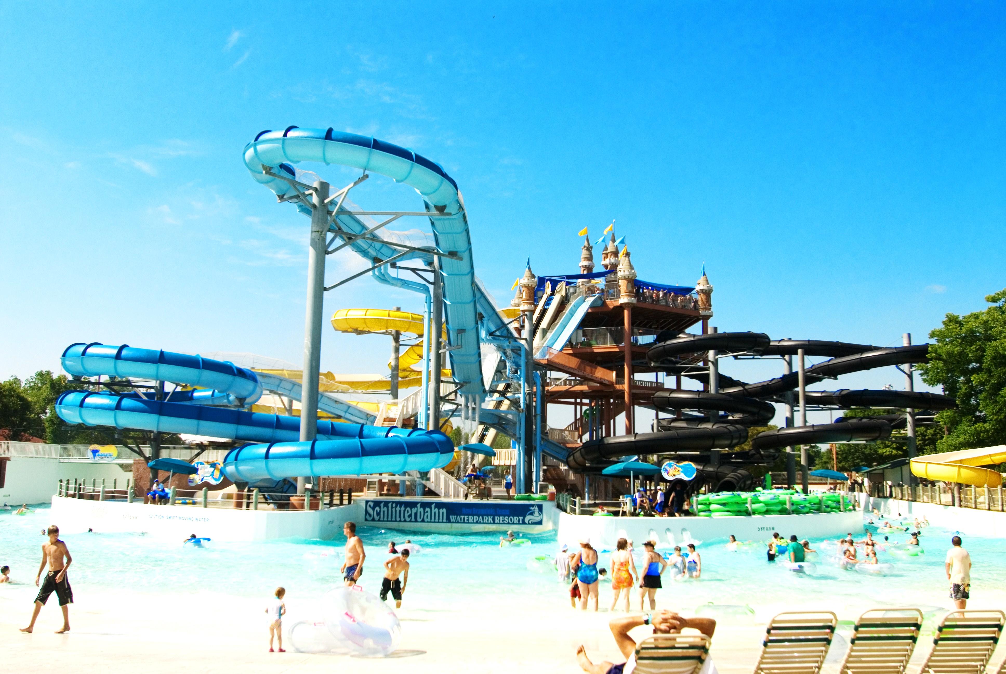 Schlitterbahn Waterpark Resort in Texas