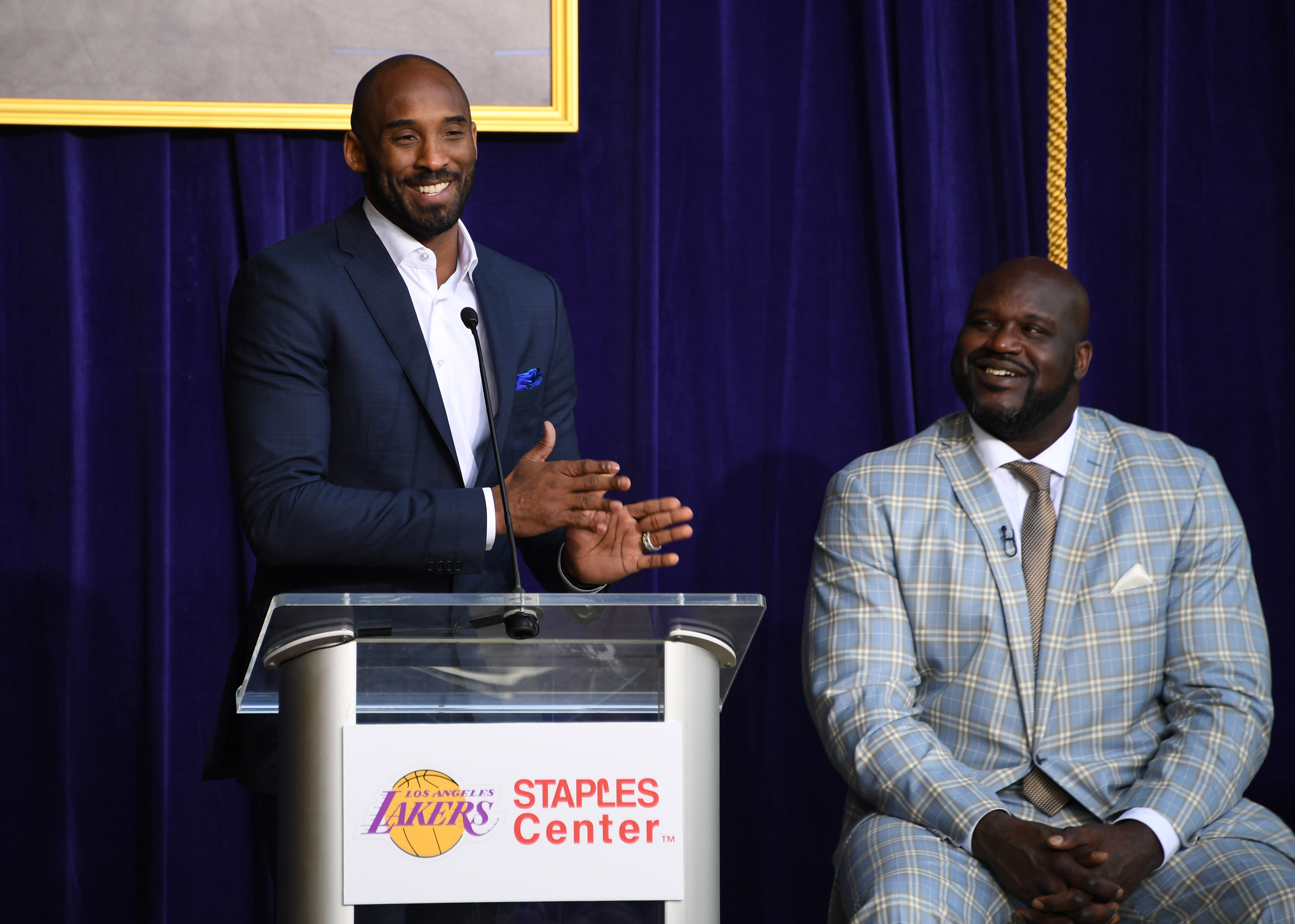 NBA: Shaquille O'Neal Statue Unveiling