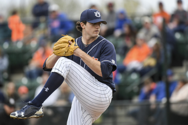 Sophomore Casey Mize will move to Friday night for this weekend's series.