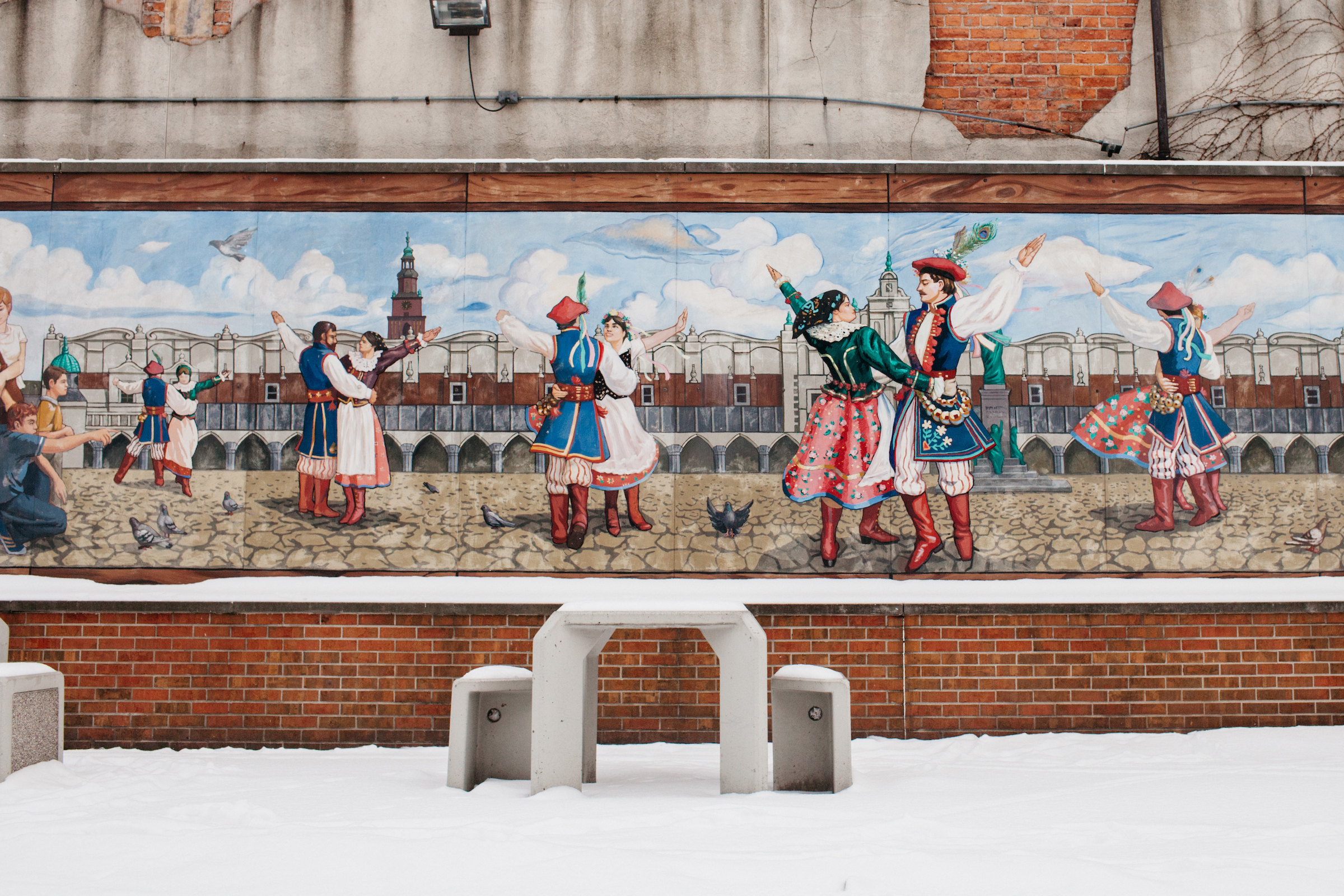 A mural in Hamtramck.