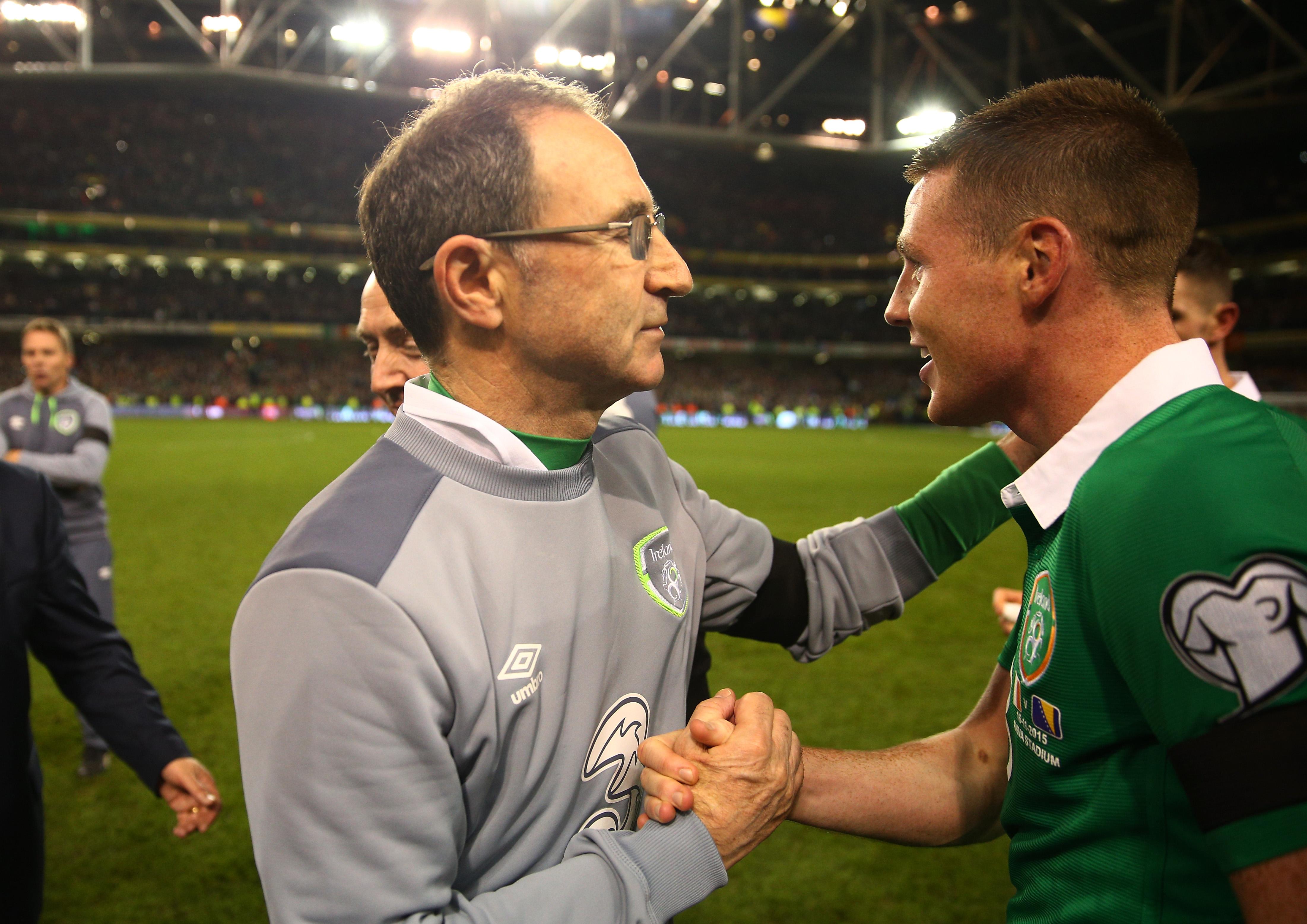 Republic of Ireland v Bosnia and Herzegovina - UEFA EURO 2016 Qualifier: Play-Off Second Leg